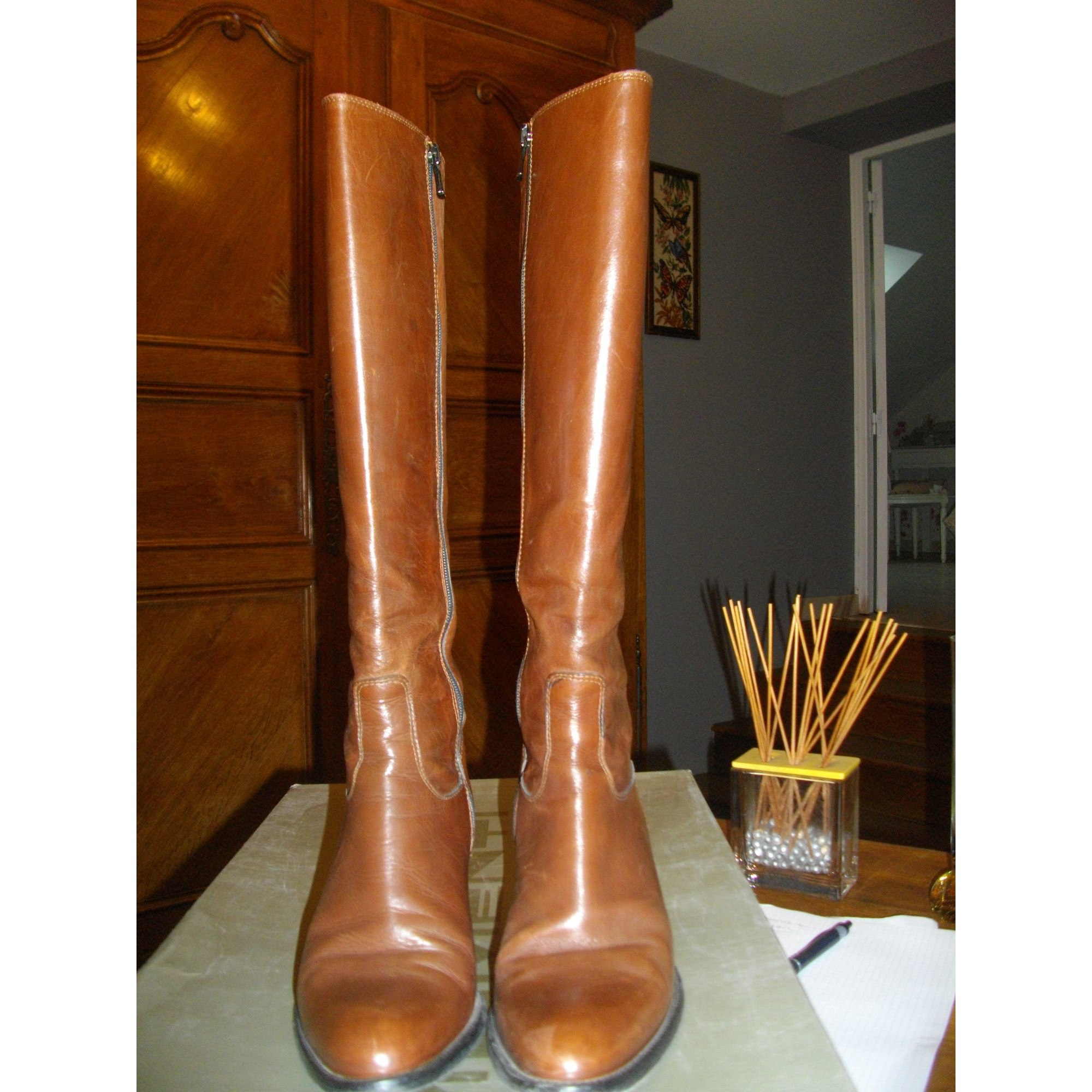 Riding Boots MOMENTI Brown