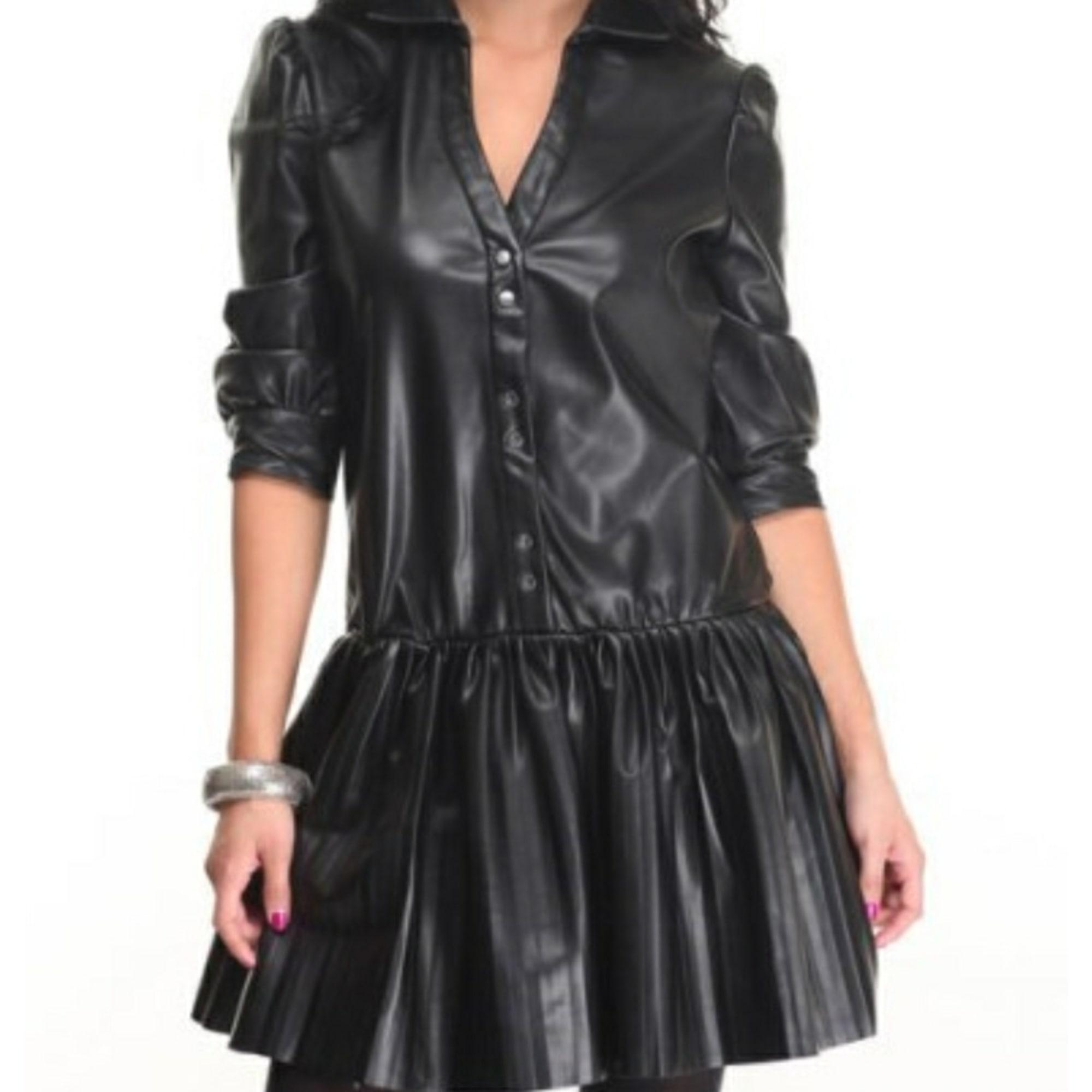 Robe Courte Marque Inconnue 34 Xs T0 Noir 8414955