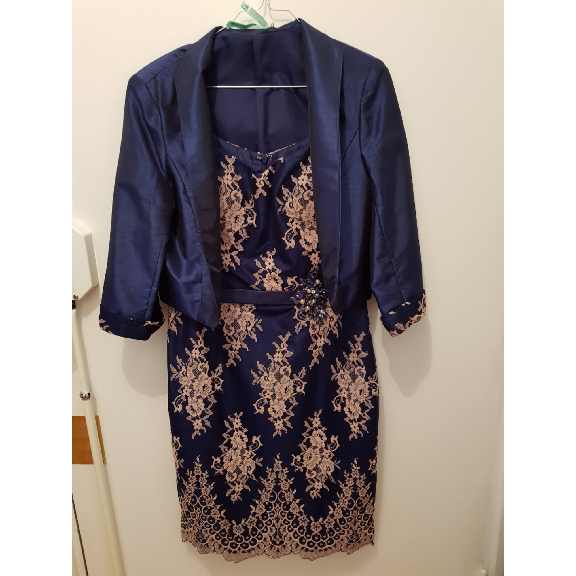 Robe courte CATHERINE GÉRARD Bleu, bleu marine, bleu turquoise