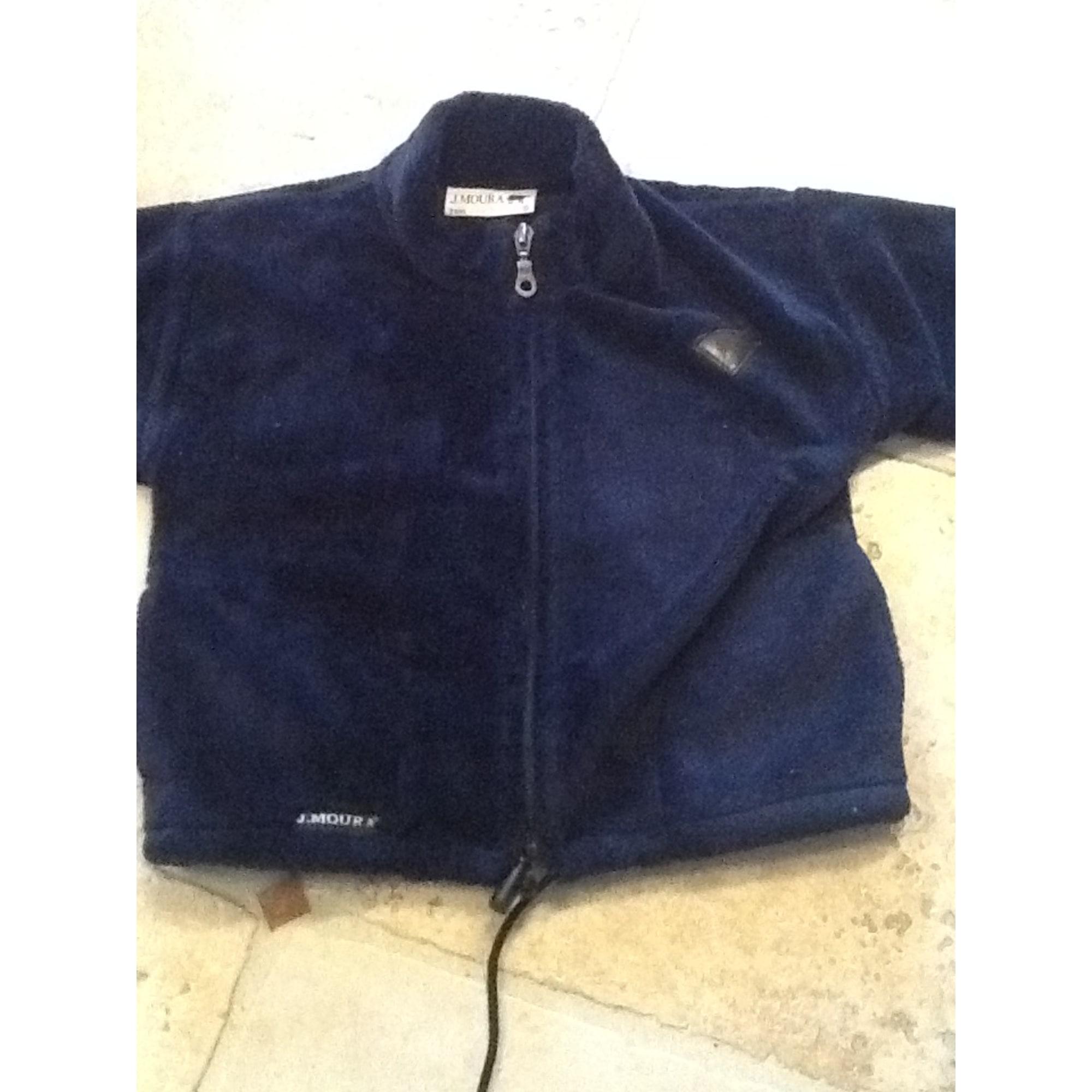 Manteau J.MOURA Bleu, bleu marine, bleu turquoise