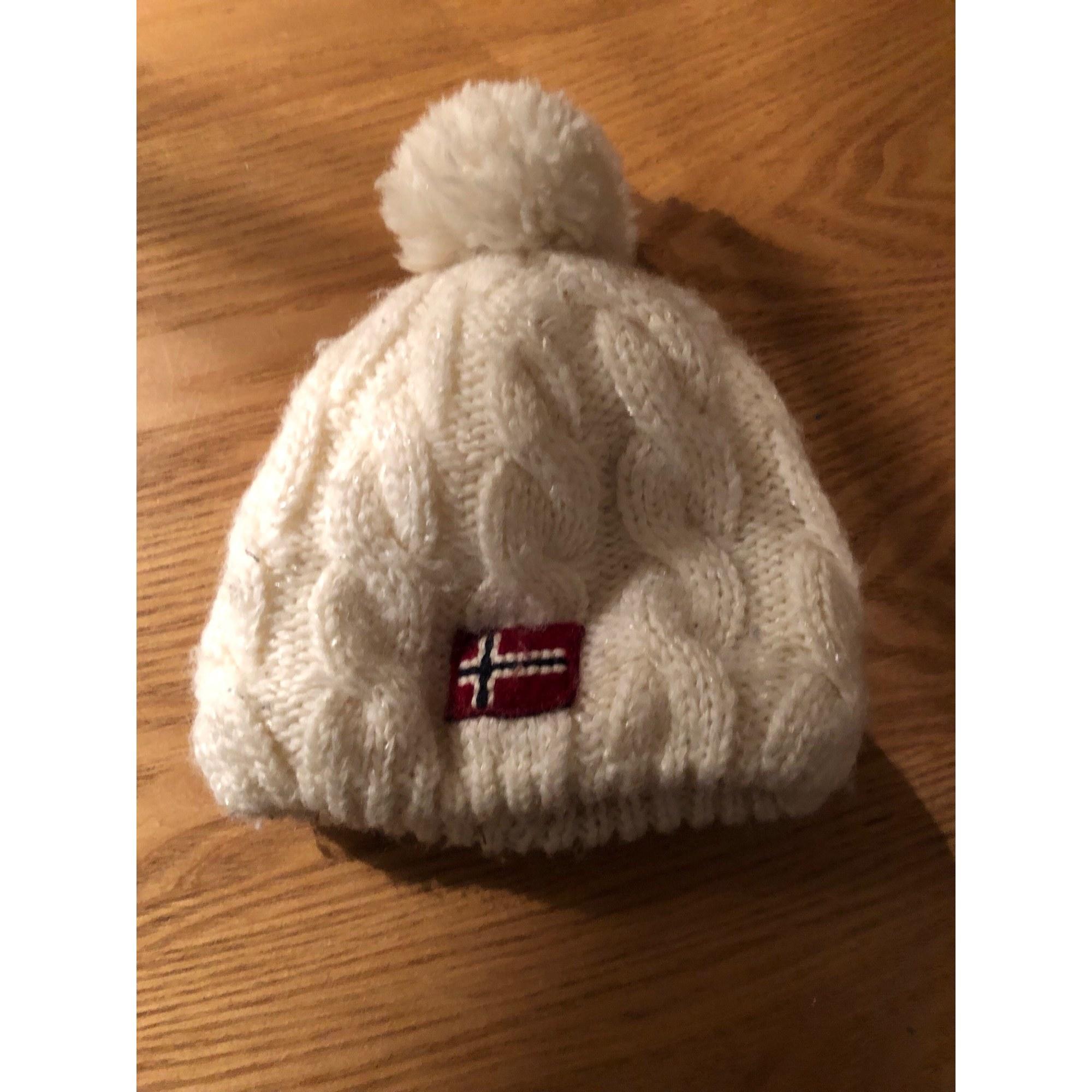 Mütze NAPAPIJRI Weiß, elfenbeinfarben