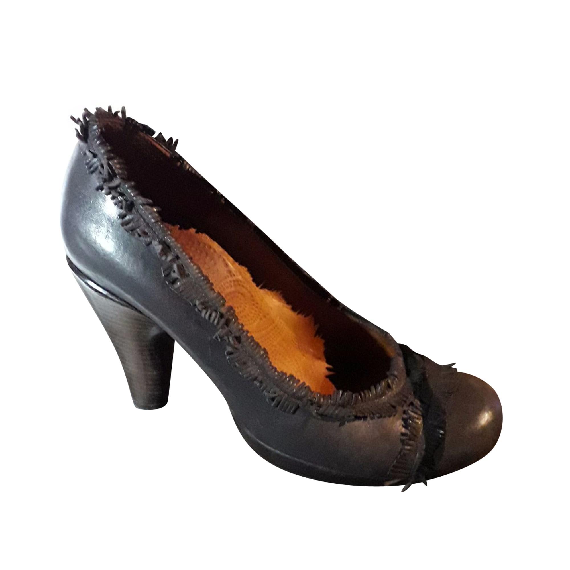 Sandales à talons CHIE MIHARA Marron