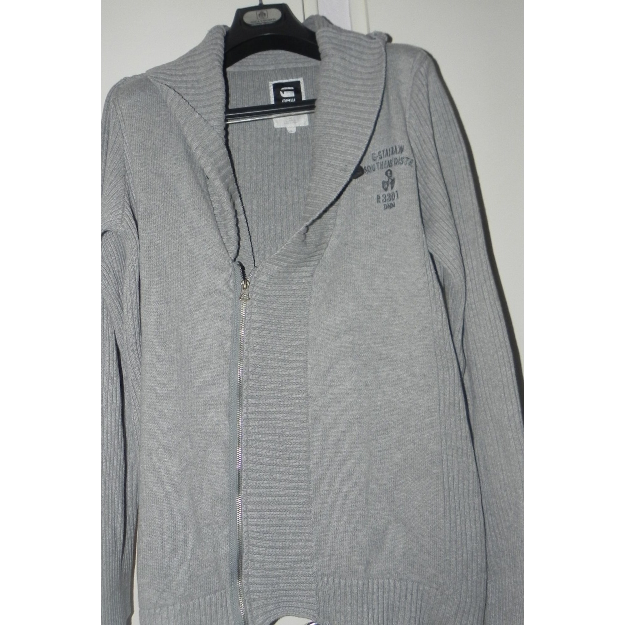Gilet, cardigan G-STAR Gris, anthracite