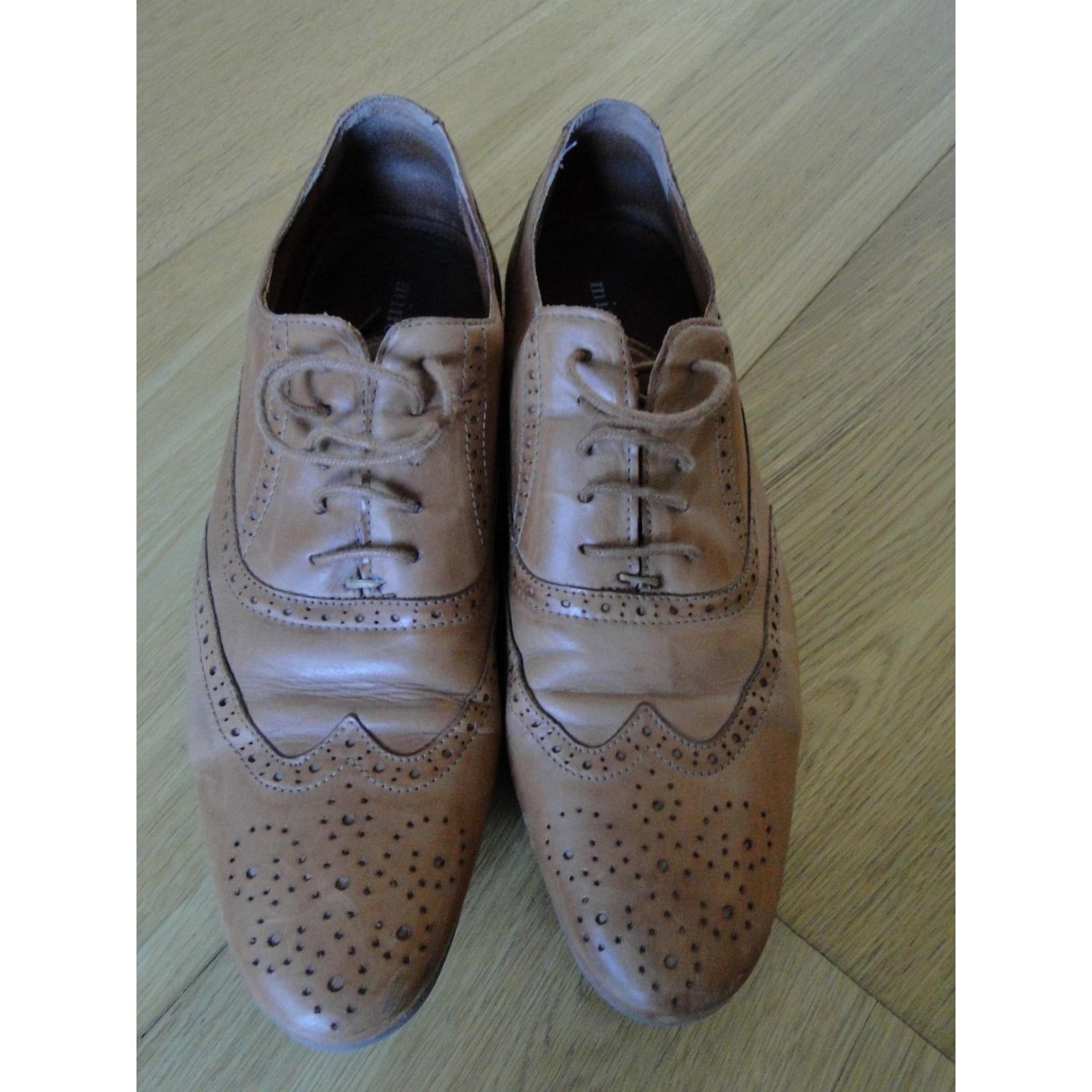 Chaussures à lacets MINELLI Marron