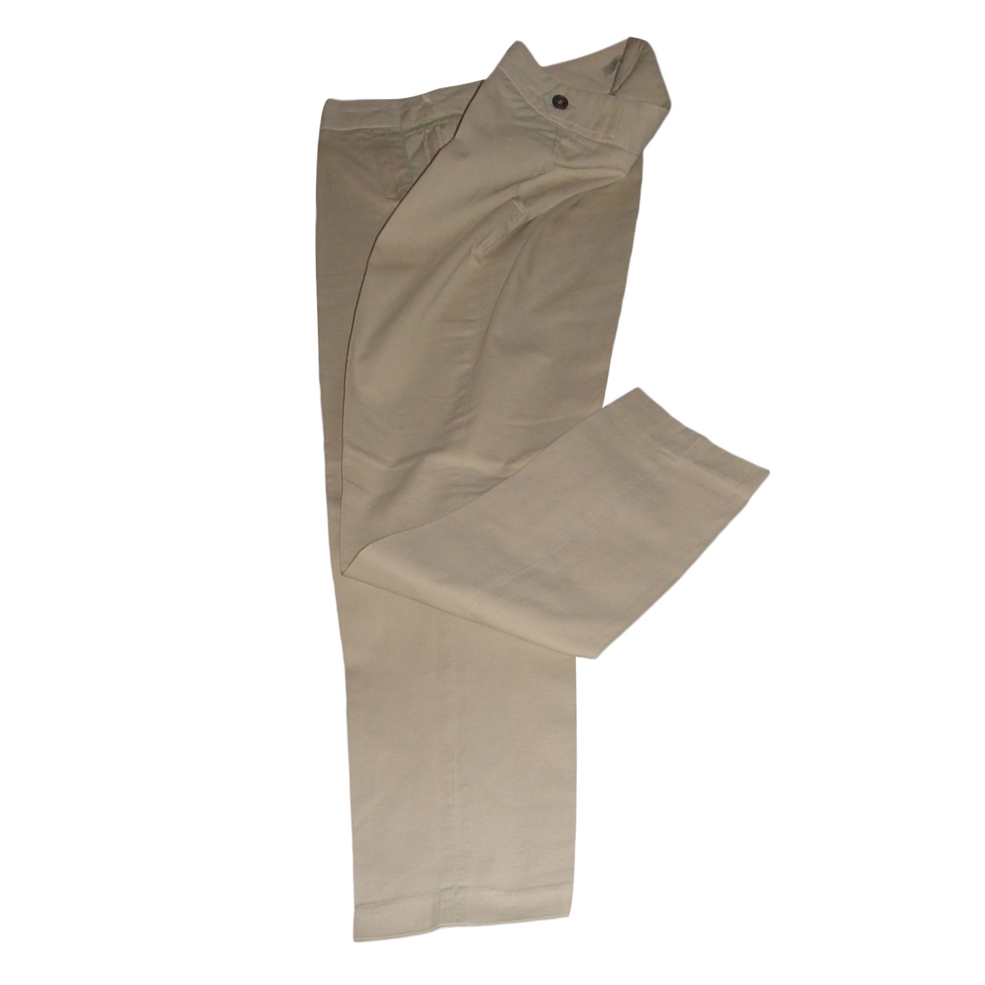 Pantalon carotte GERARD DAREL Beige, camel