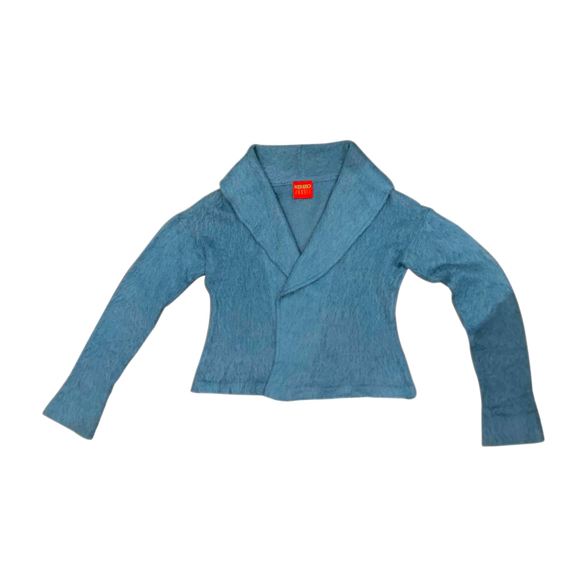 Gilet, cardigan KENZO Bleu, bleu marine, bleu turquoise