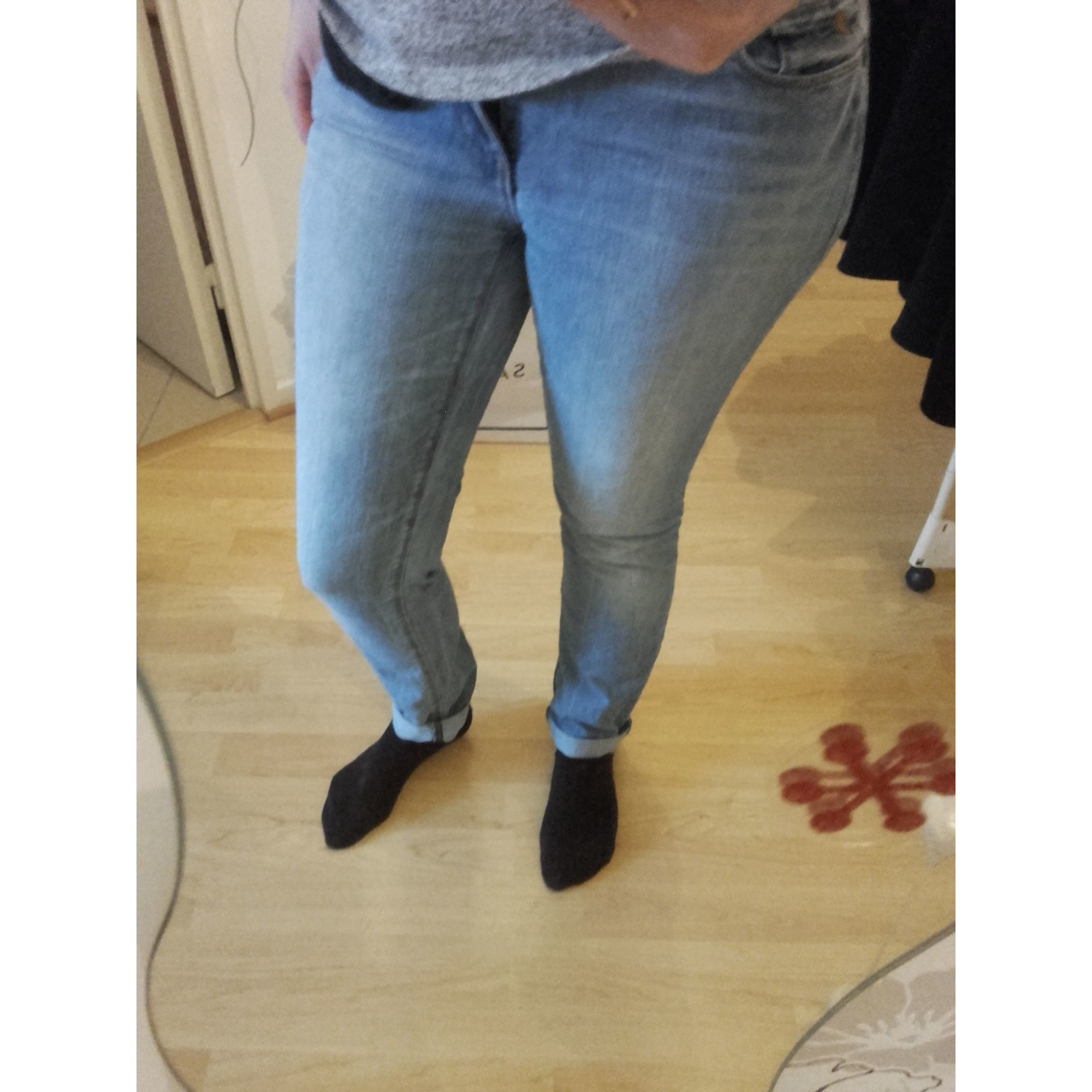 Pantalon slim, cigarette ESPRIT Bleu, bleu marine, bleu turquoise