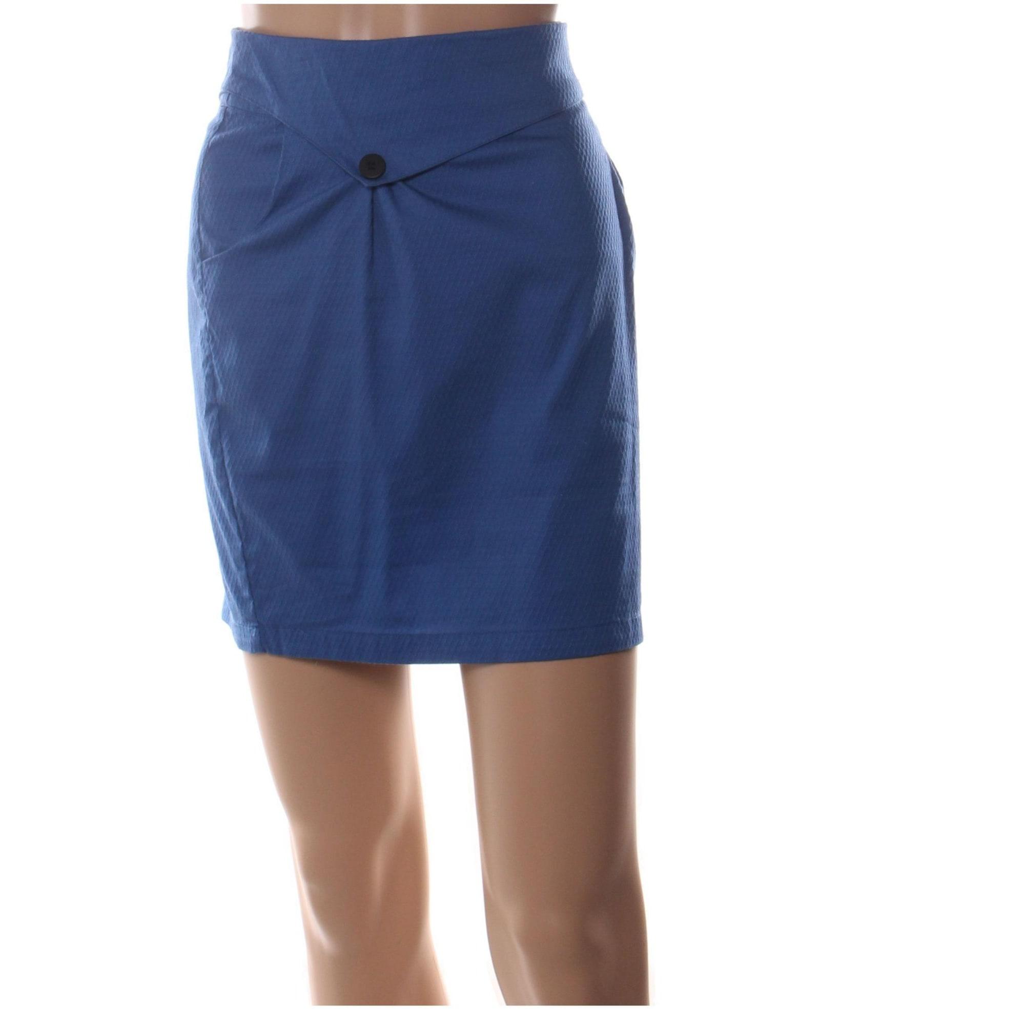 Jupe courte SKUNK FUNK Bleu, bleu marine, bleu turquoise