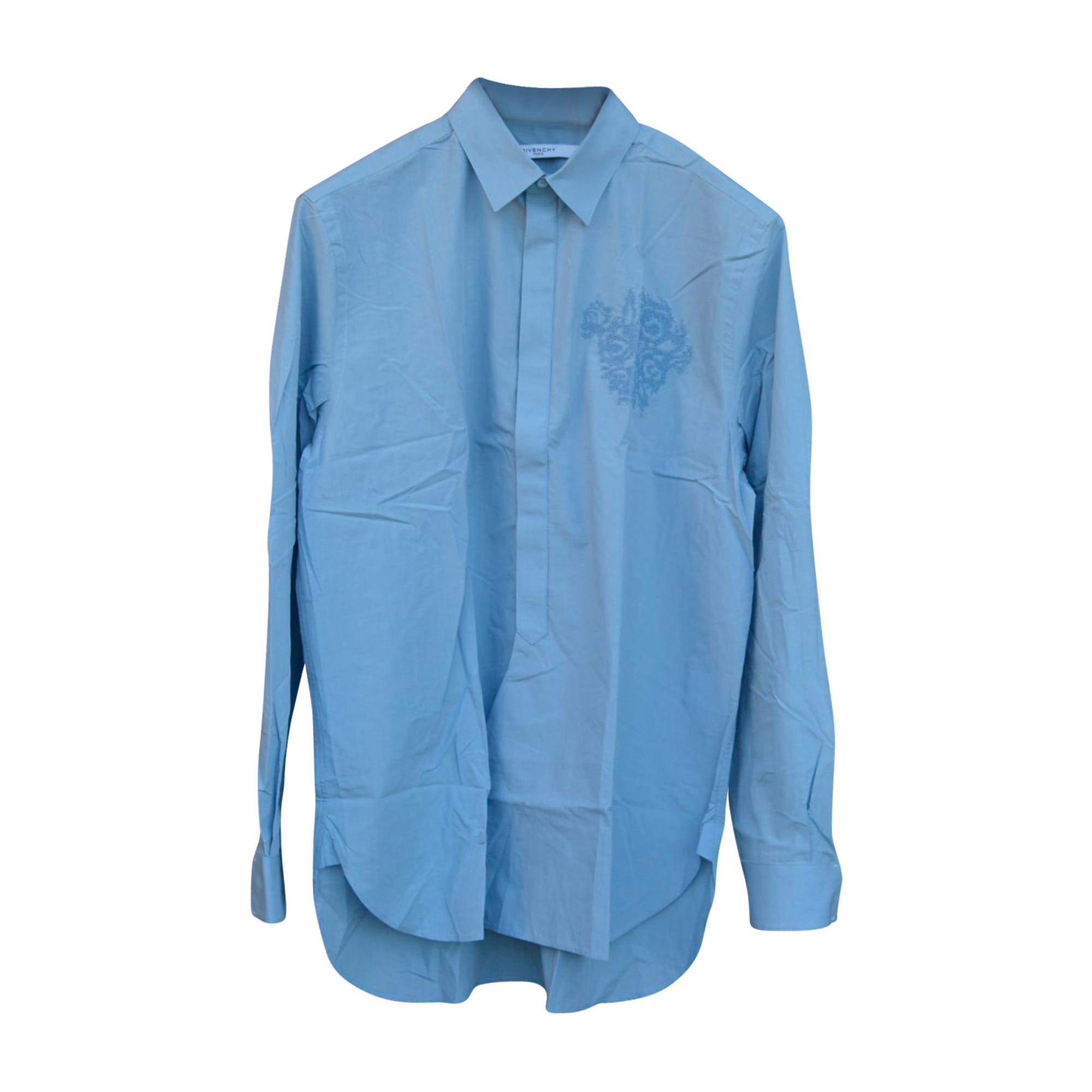 Chemise GIVENCHY Bleu, bleu marine, bleu turquoise