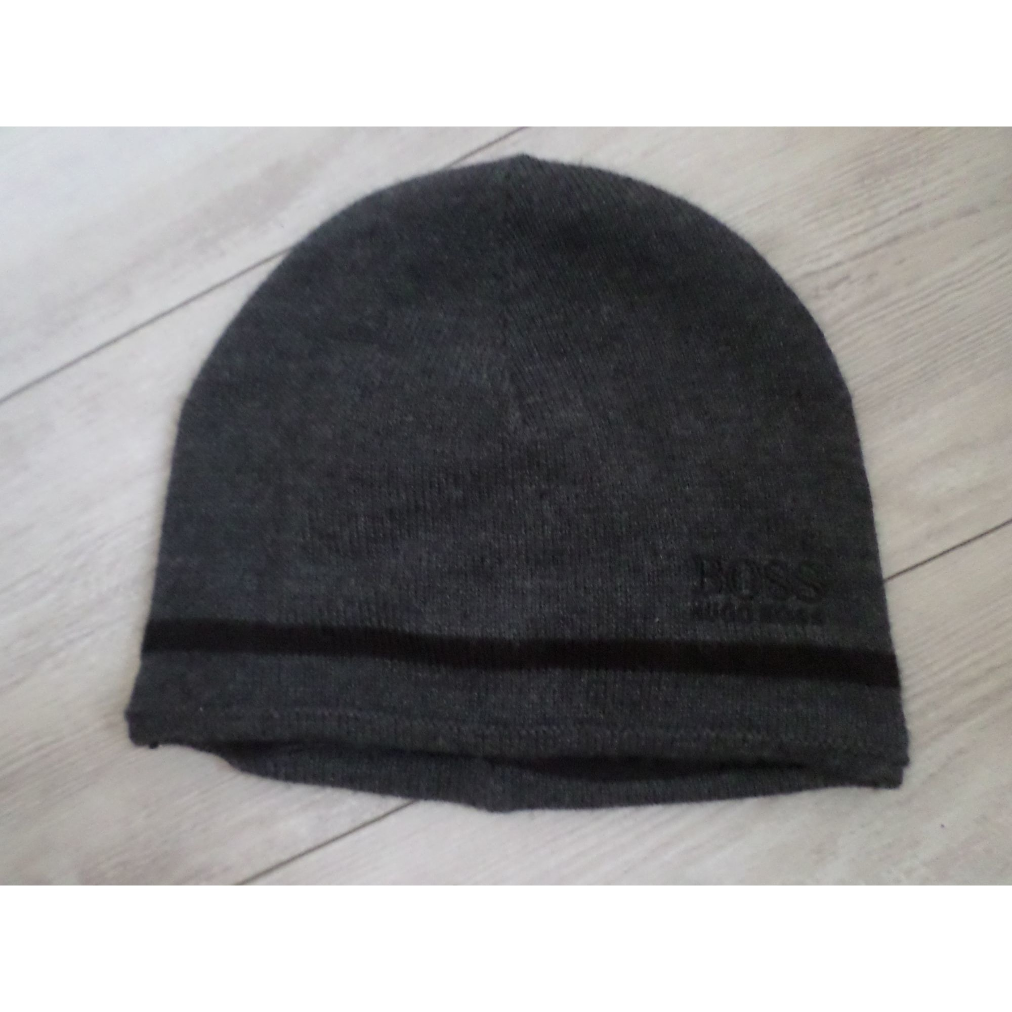 Bonnet HUGO BOSS Gris, anthracite