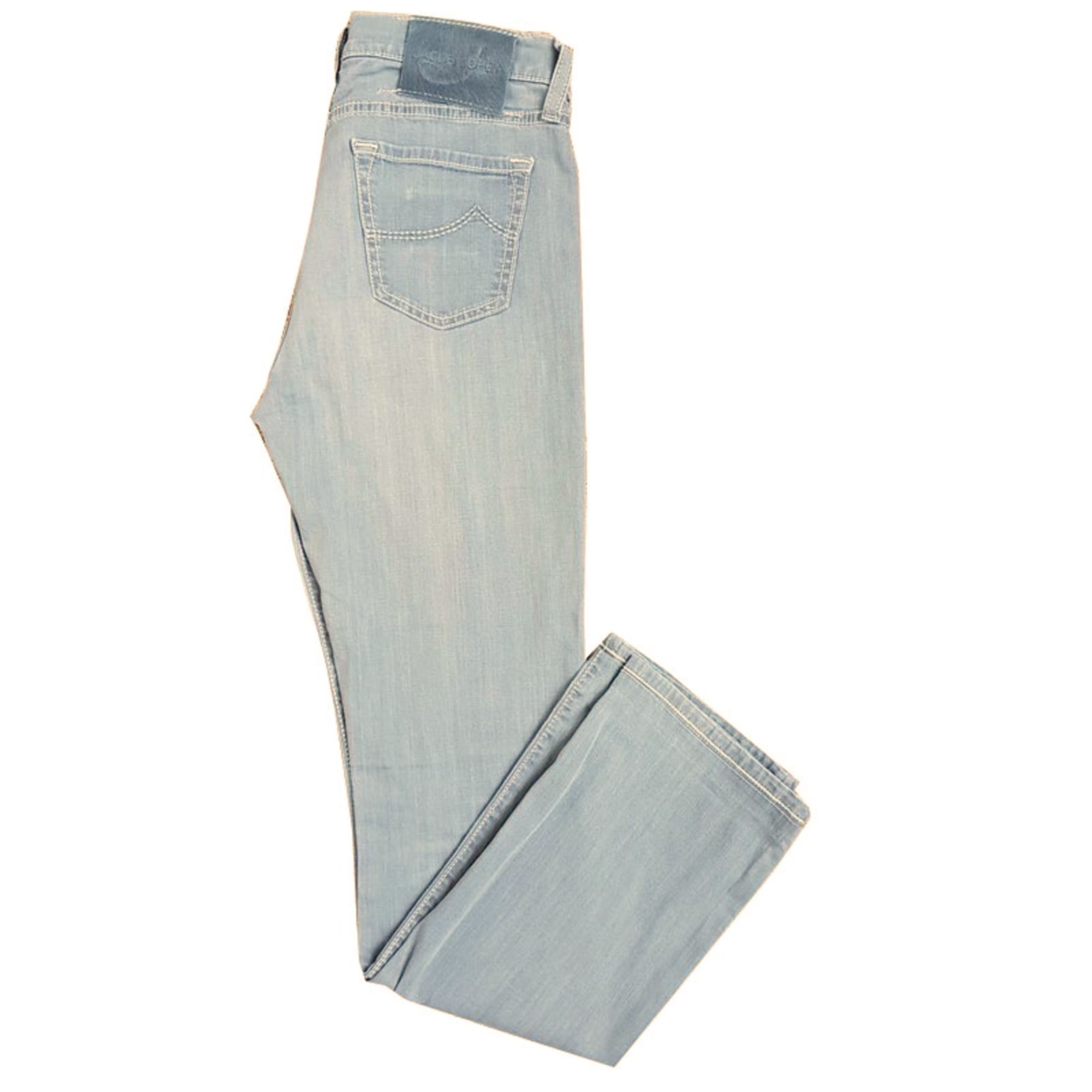 Jeans droit JACOB COHEN Gris, anthracite