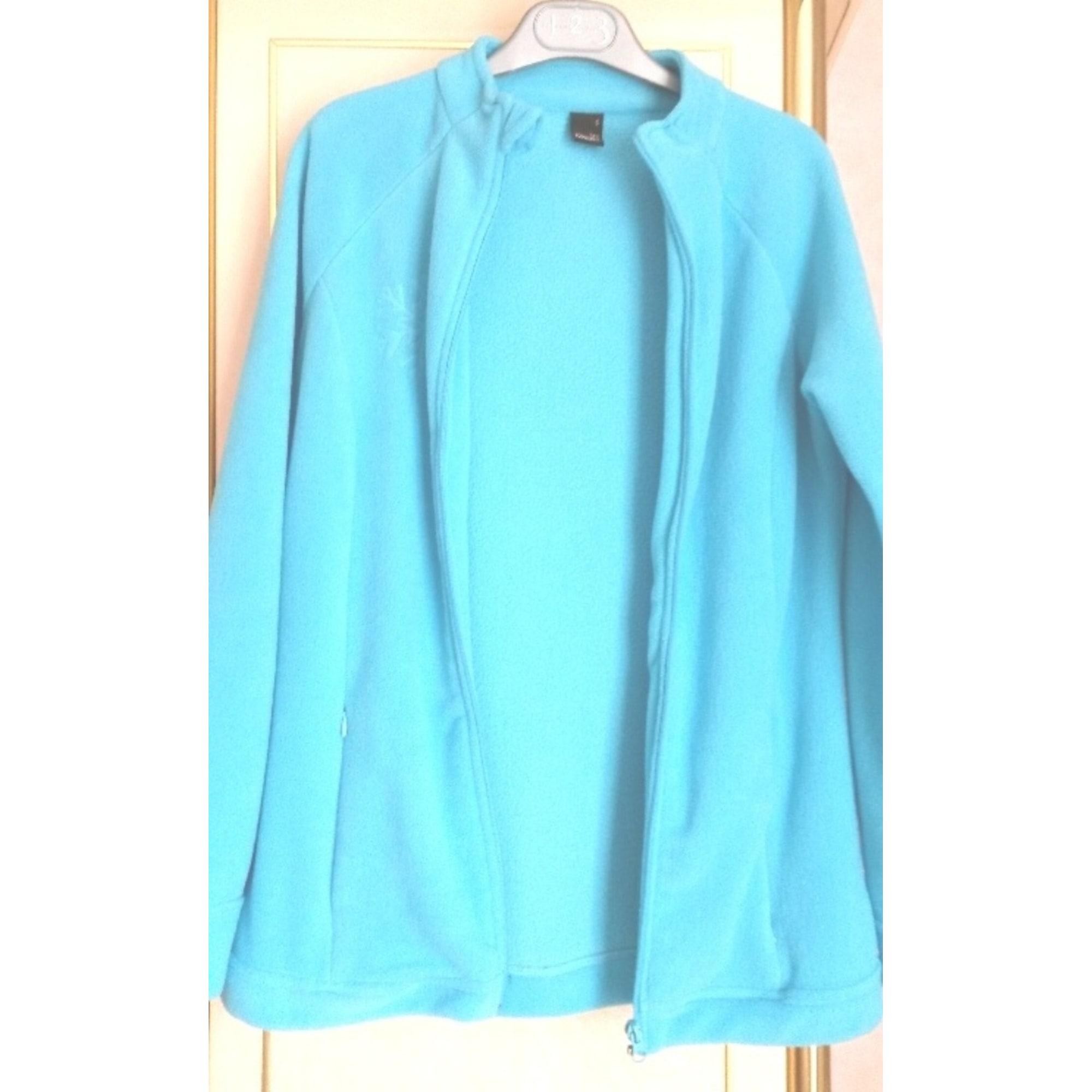 Sweat TEX SPORT CONCEPT Bleu, bleu marine, bleu turquoise