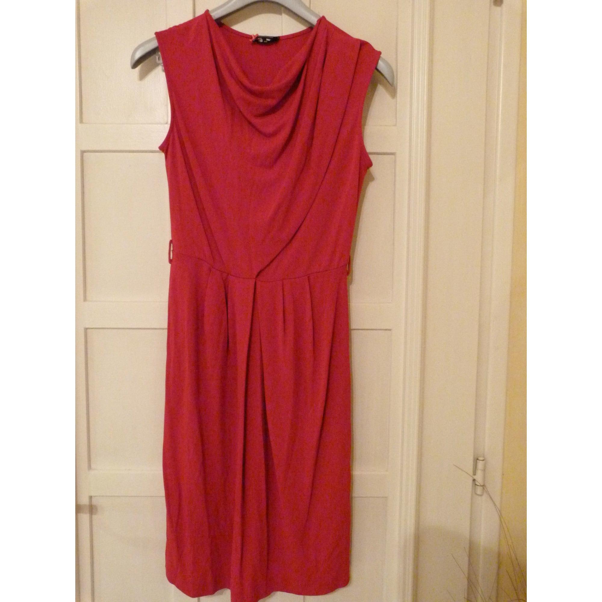 Robe courte SINÉQUANONE Rouge, bordeaux