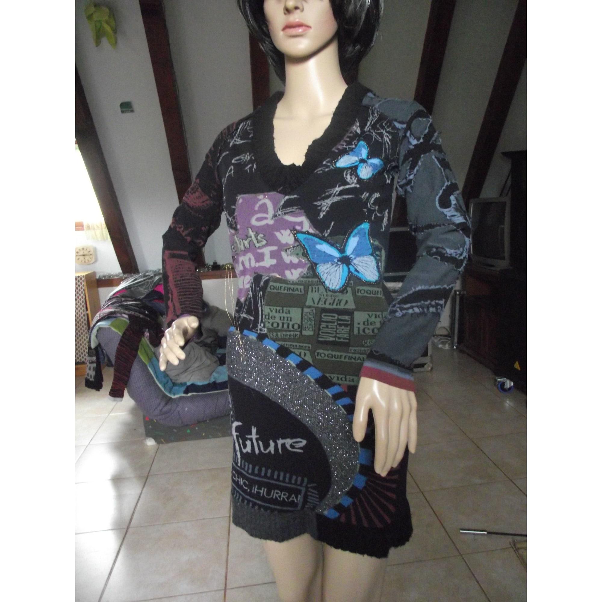 Pull tunique DESIGUAL Multicouleur