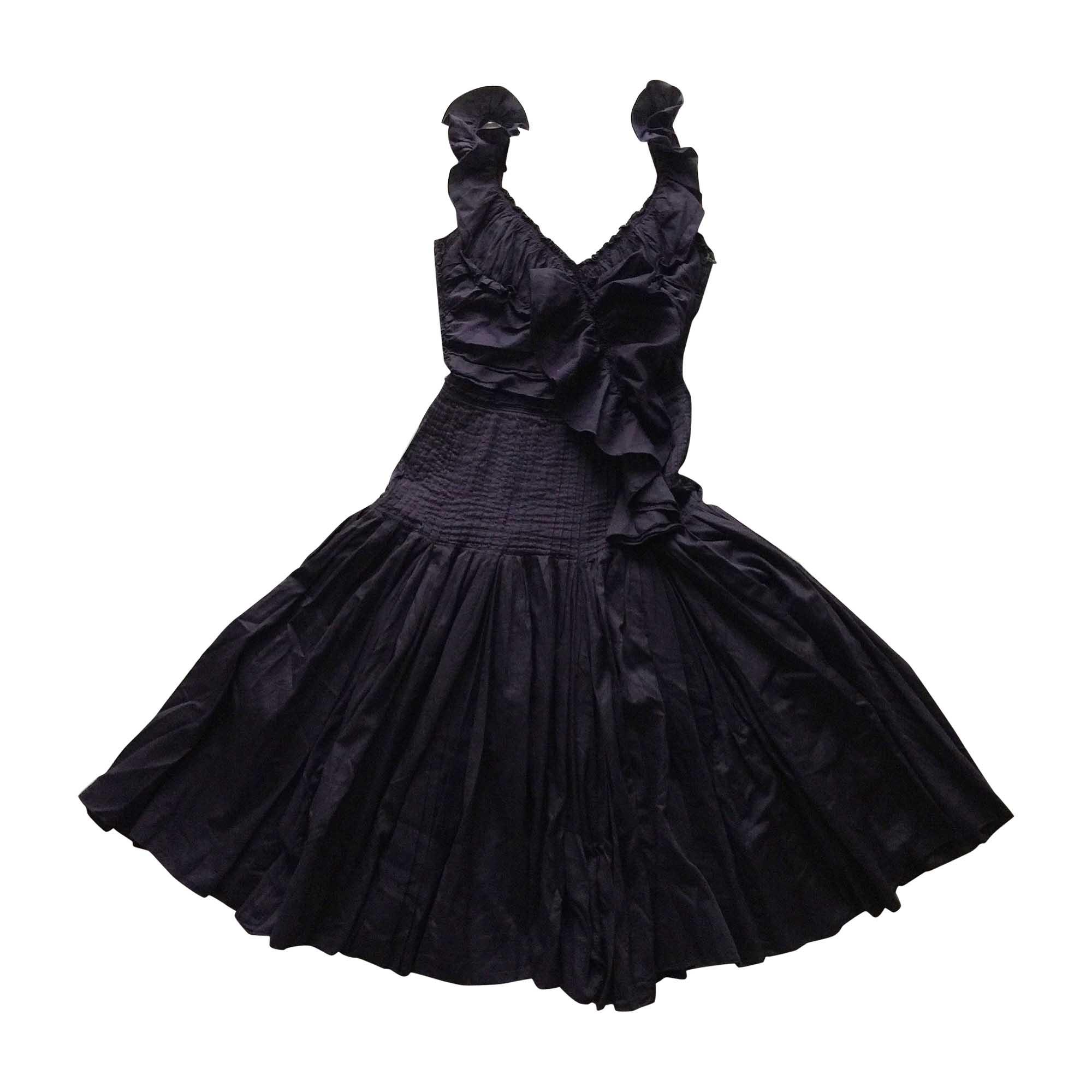Robe mi-longue PRADA Violet, mauve, lavande
