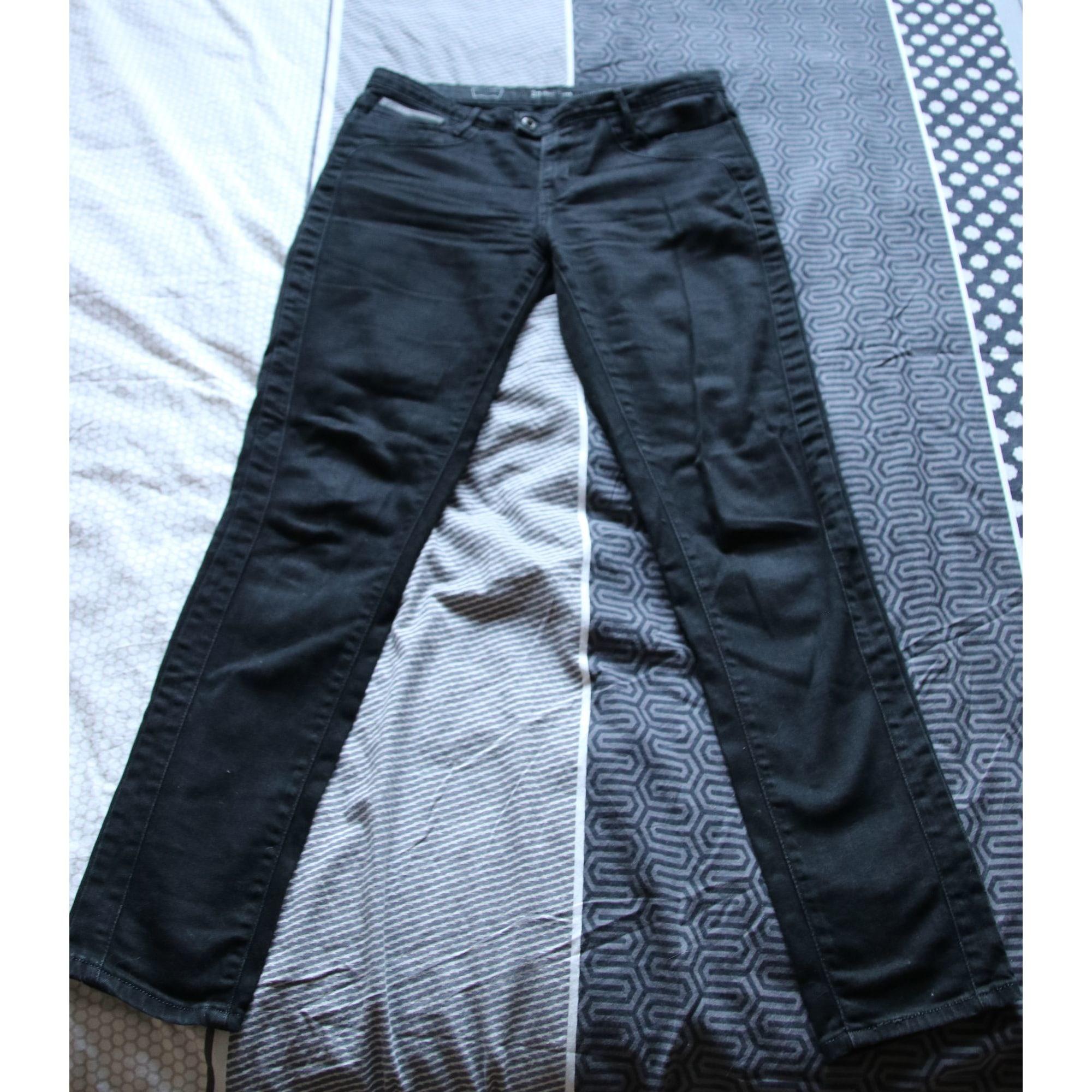 Pantalon slim, cigarette LEVI'S Noir