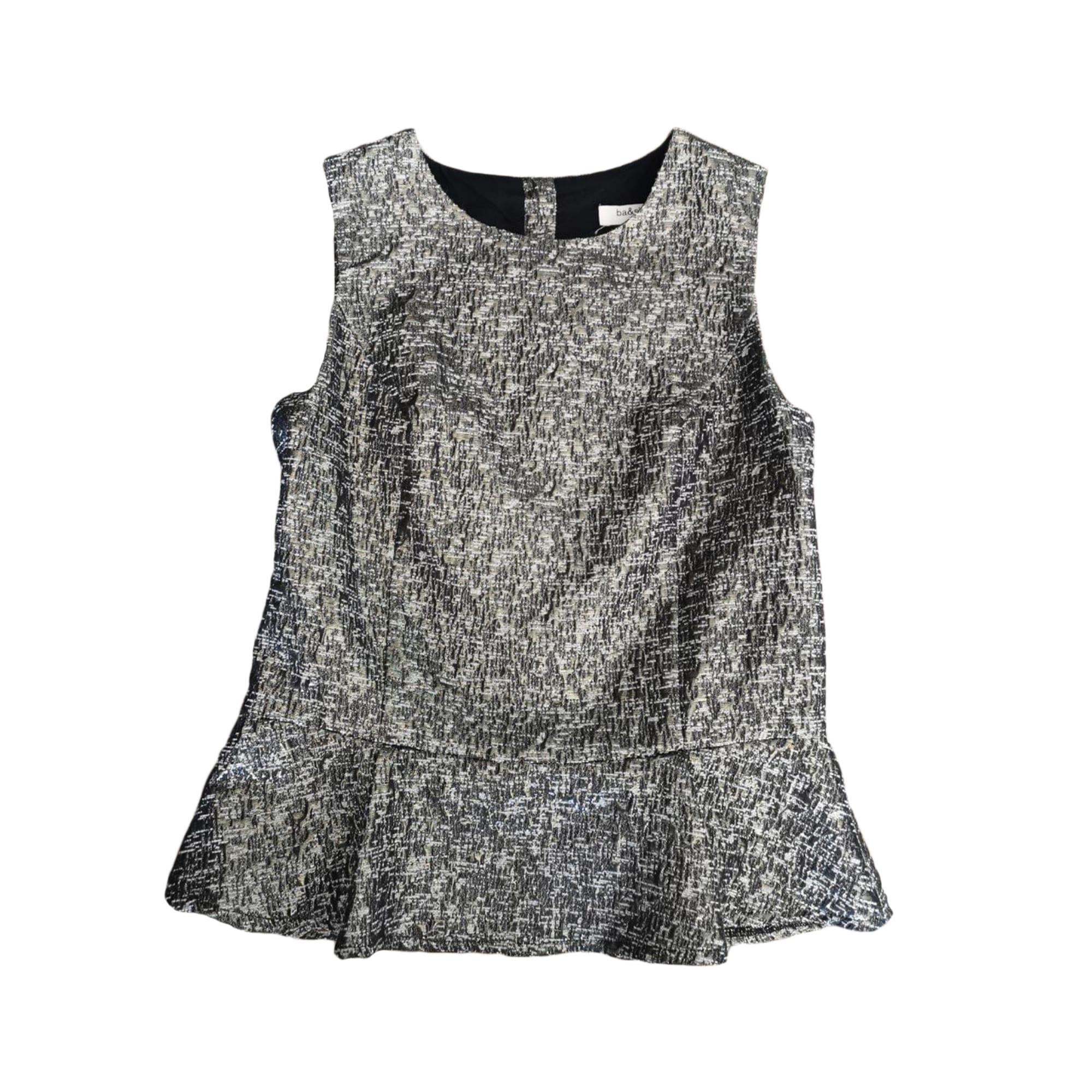 Top, tee-shirt BA&SH Doré, bronze, cuivre