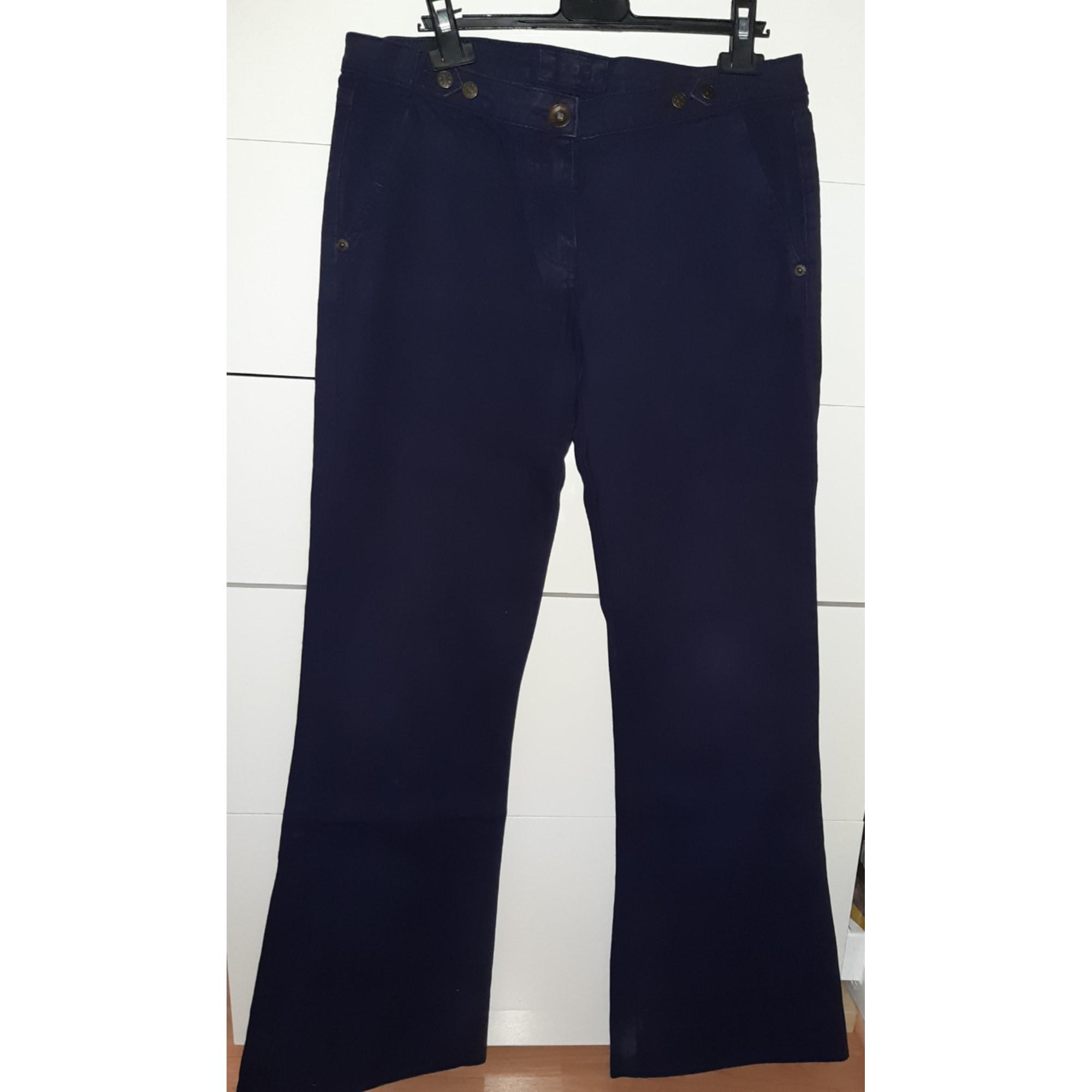 Jeans très evasé, patte d'éléphant MAJE Bleu, bleu marine, bleu turquoise