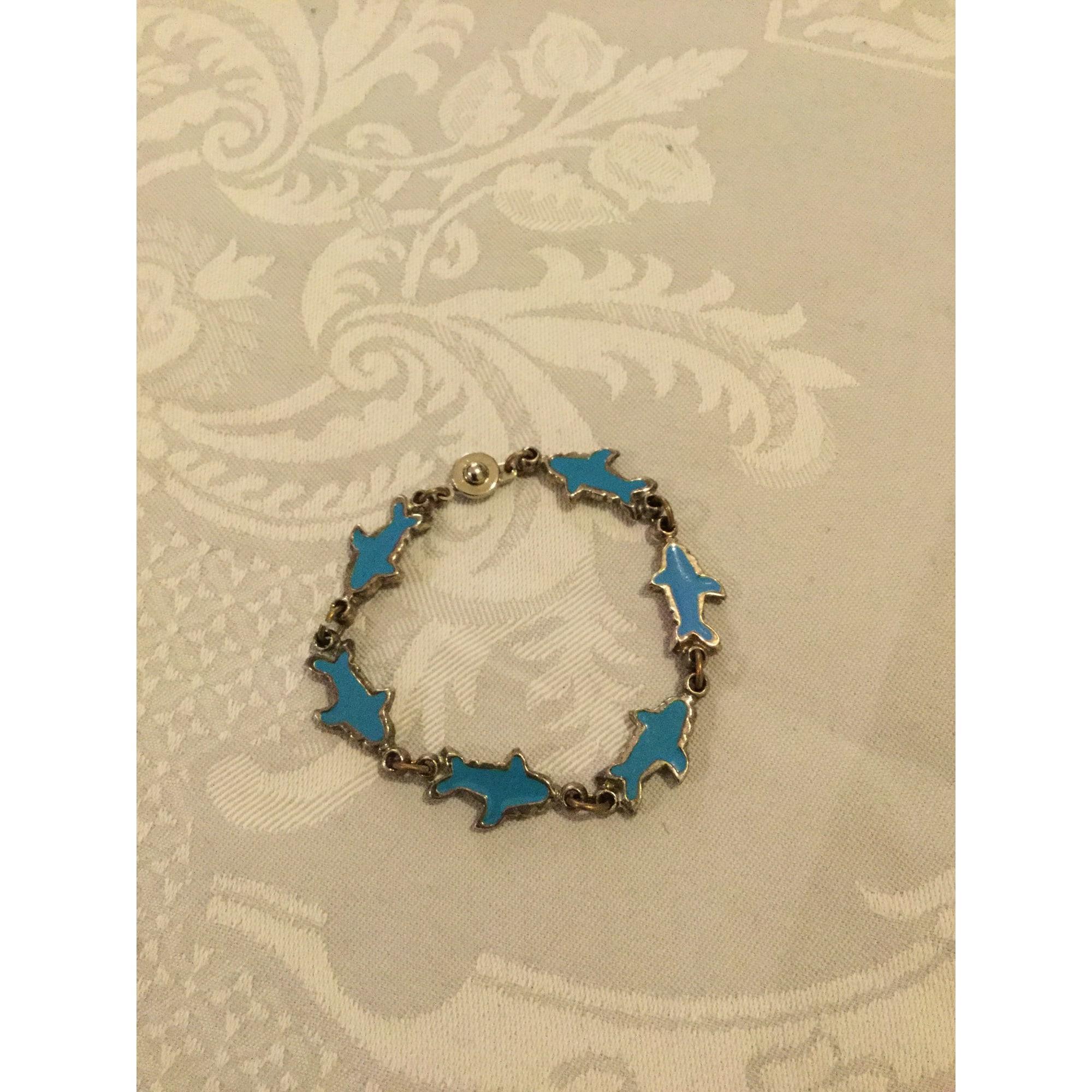 Bracelet PHILIPPE AUDIBERT Bleu, bleu marine, bleu turquoise