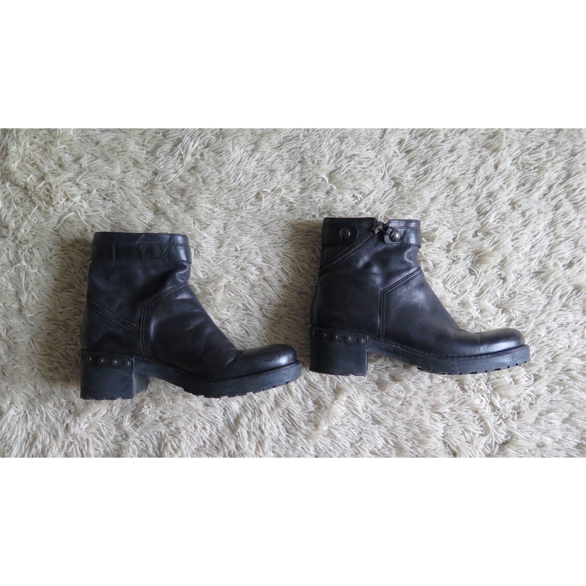 Bottines & low boots à talons JANET SPORT Noir