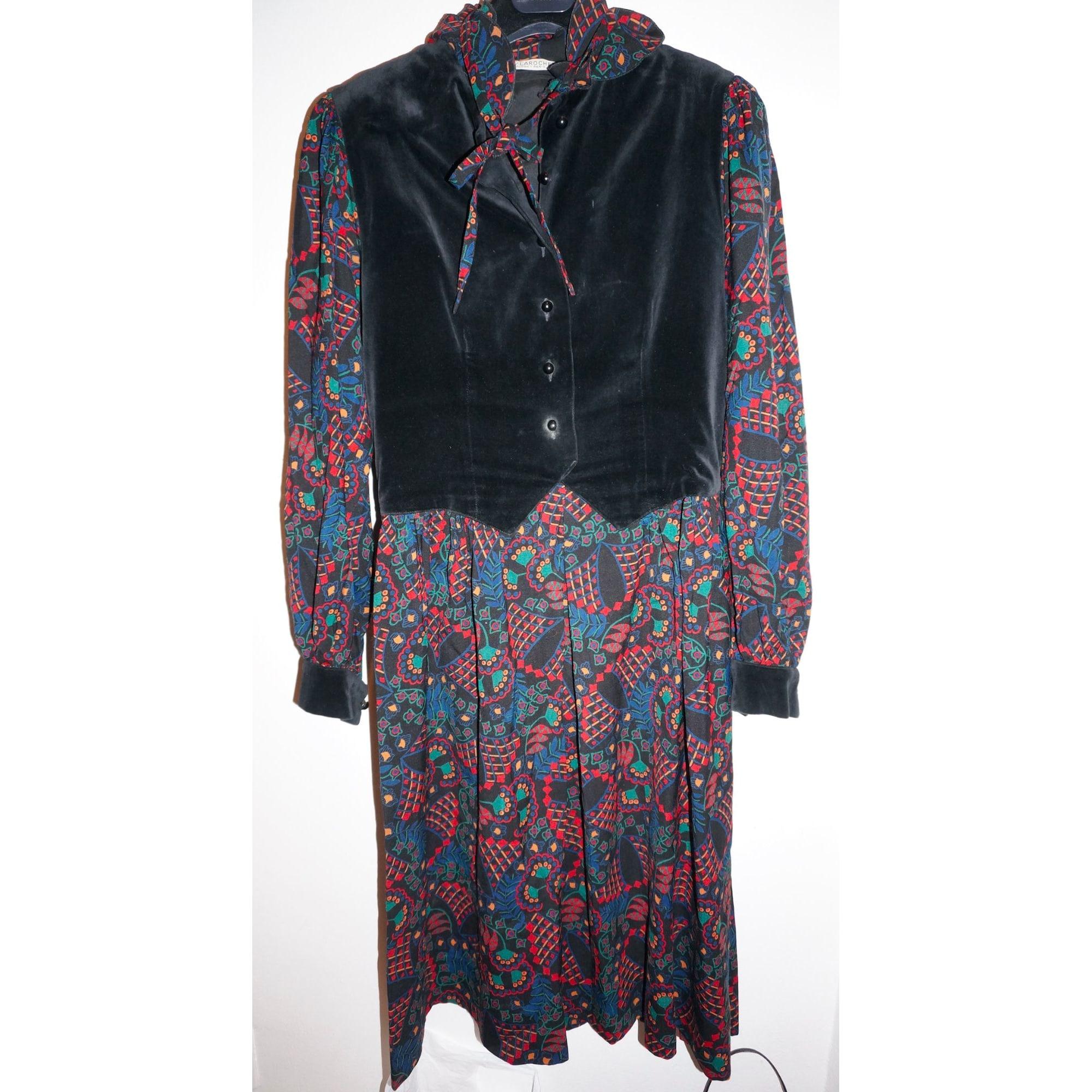 Robe mi-longue GUY LAROCHE Multicouleur