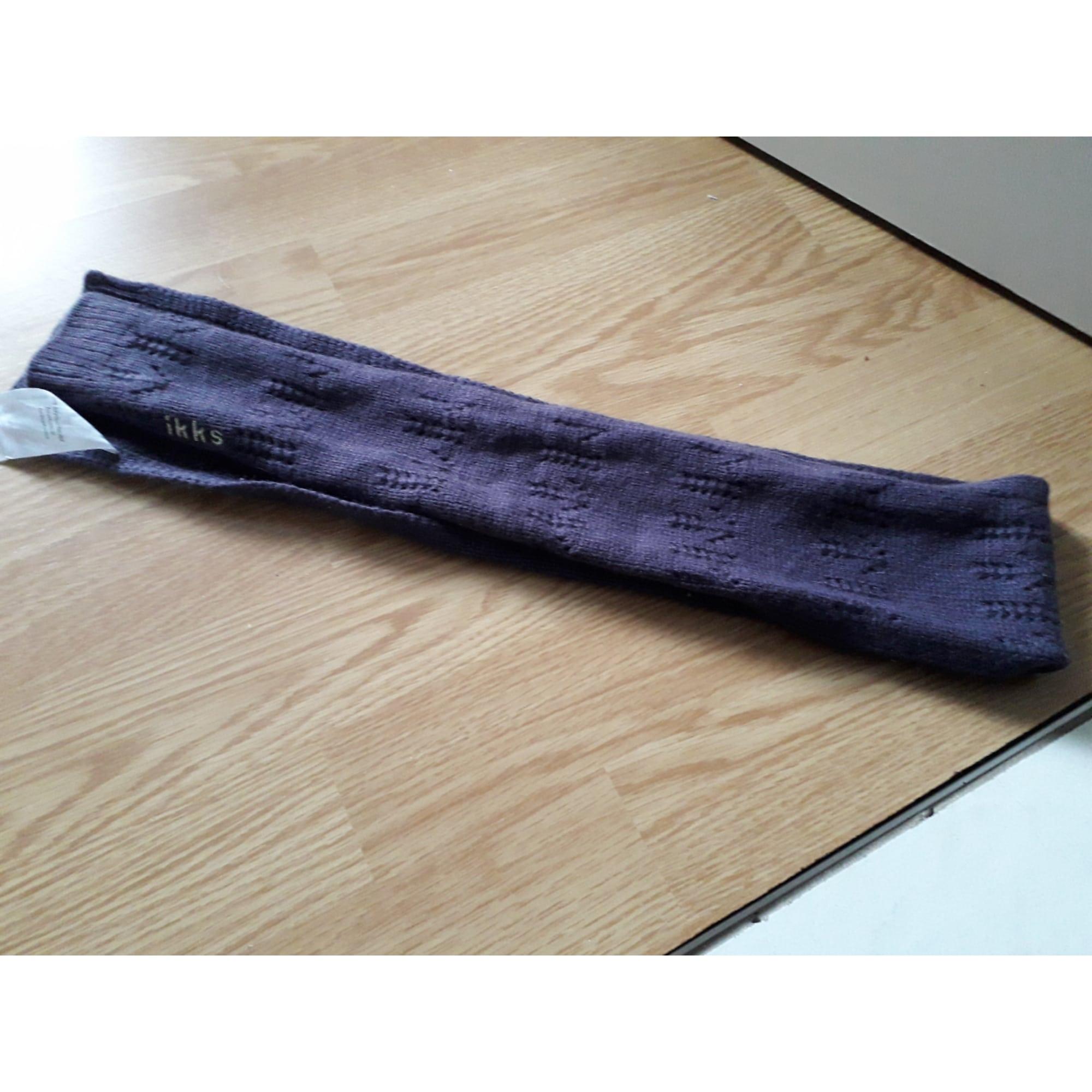 Schals IKKS Violett, malvenfarben, lavendelfarben