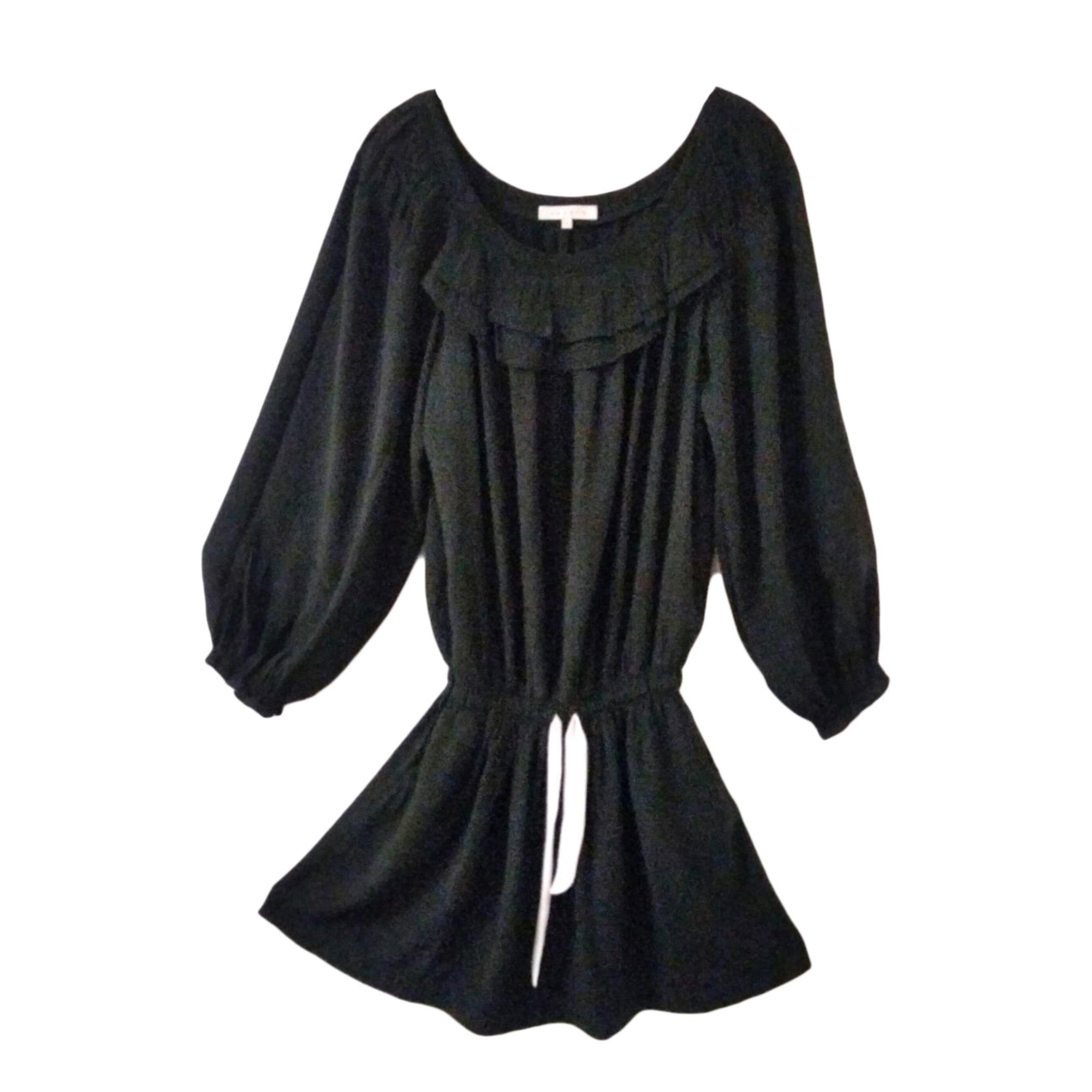 Robe mi-longue SANDRO Noir