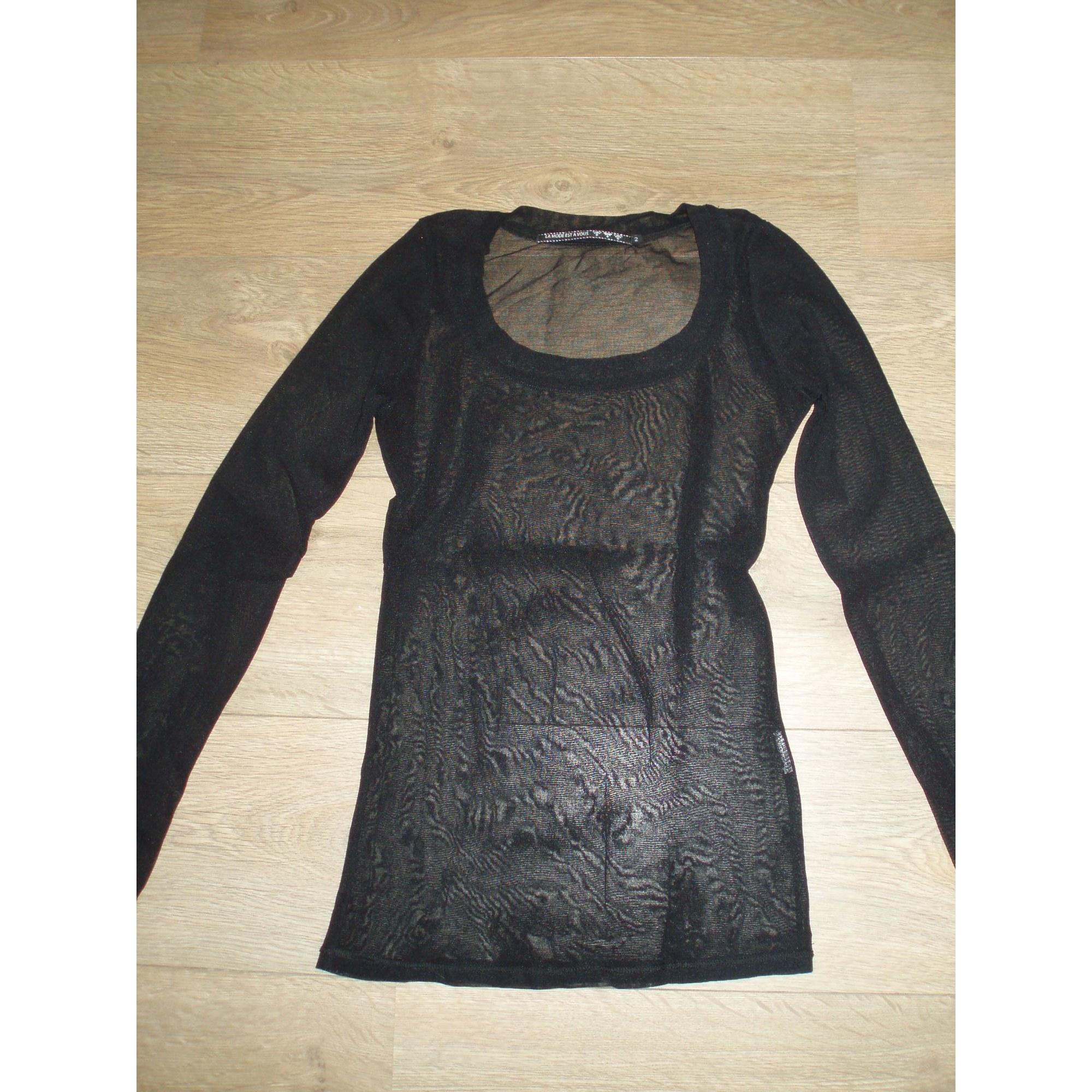 Top, tee-shirt LA MODE EST À VOUS Noir