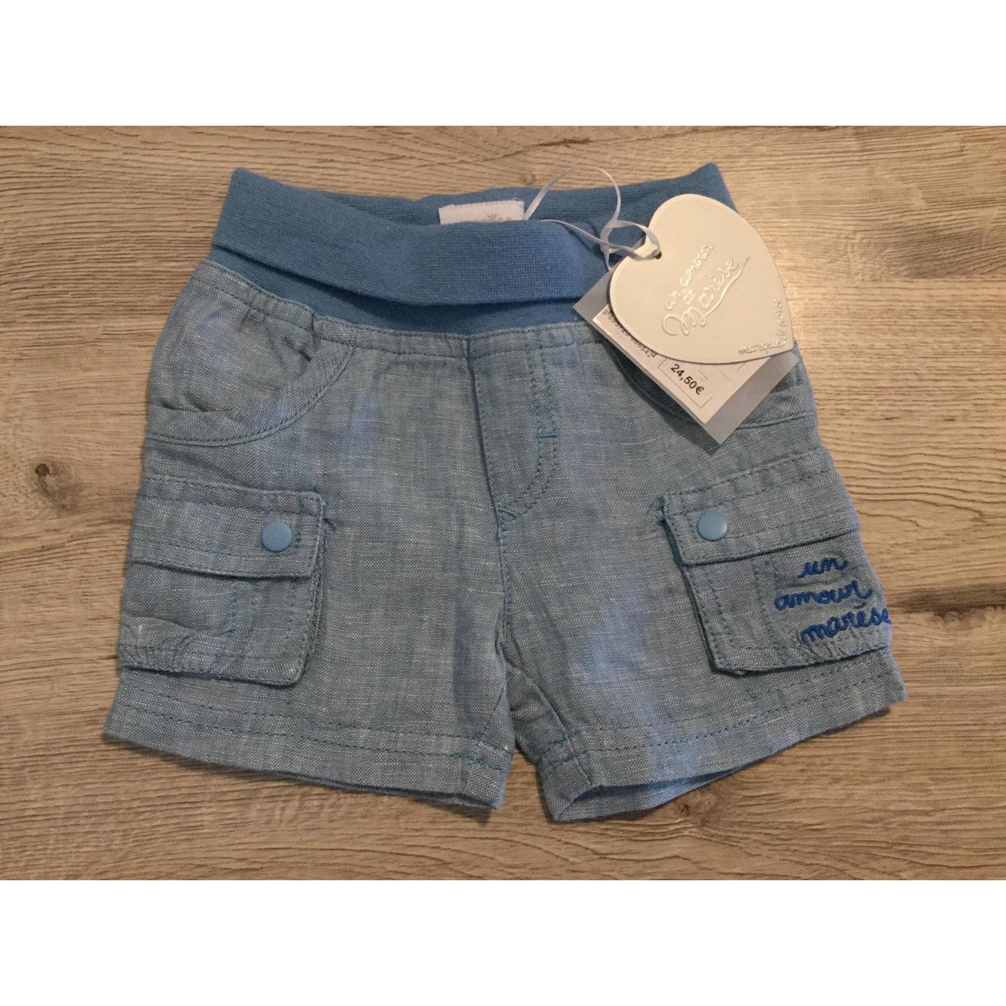 Short MARÈSE Bleu