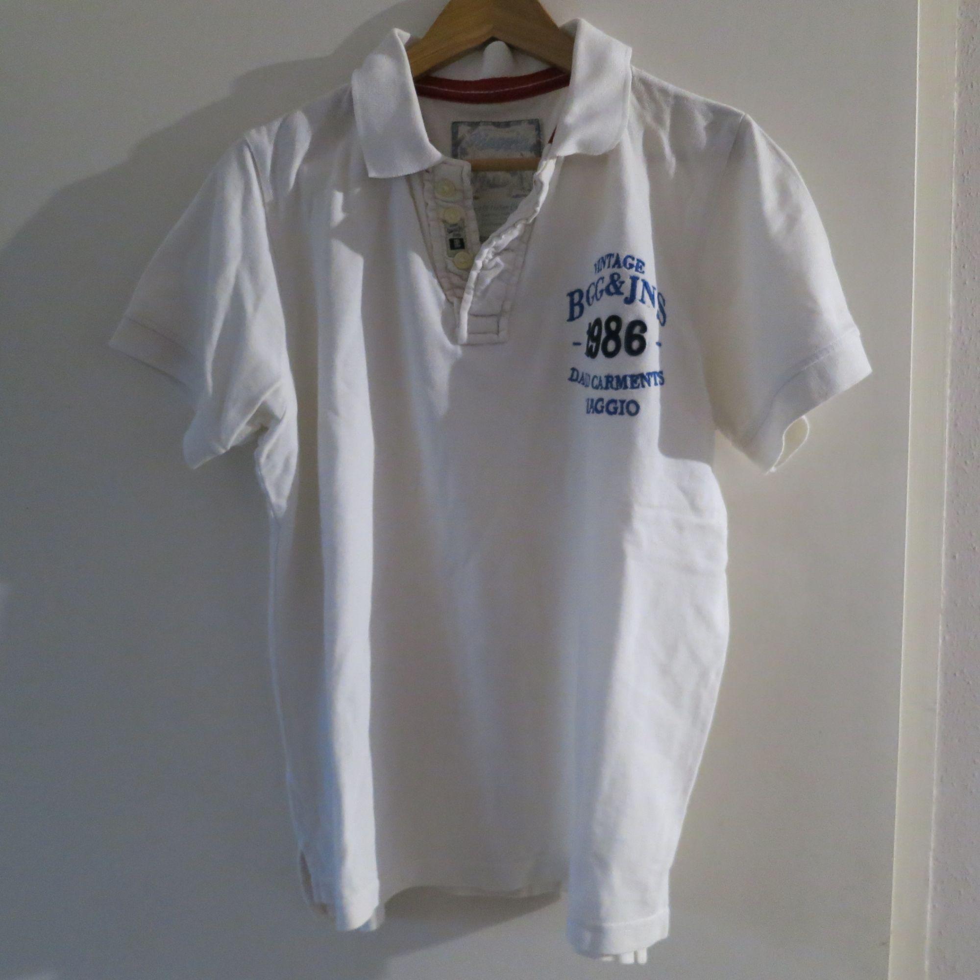 Polo BIAGGIO Blanc, blanc cassé, écru
