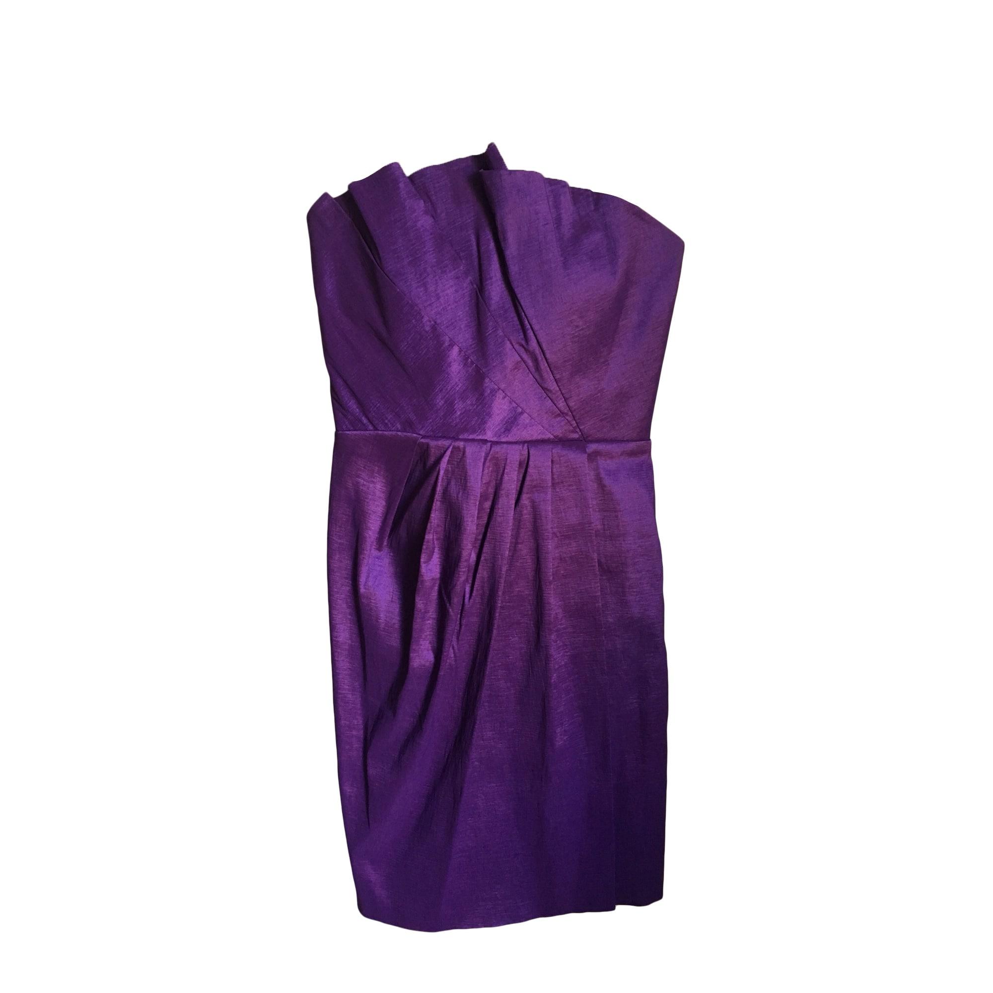 Robe bustier ALAIN MANOUKIAN Violet, mauve, lavande