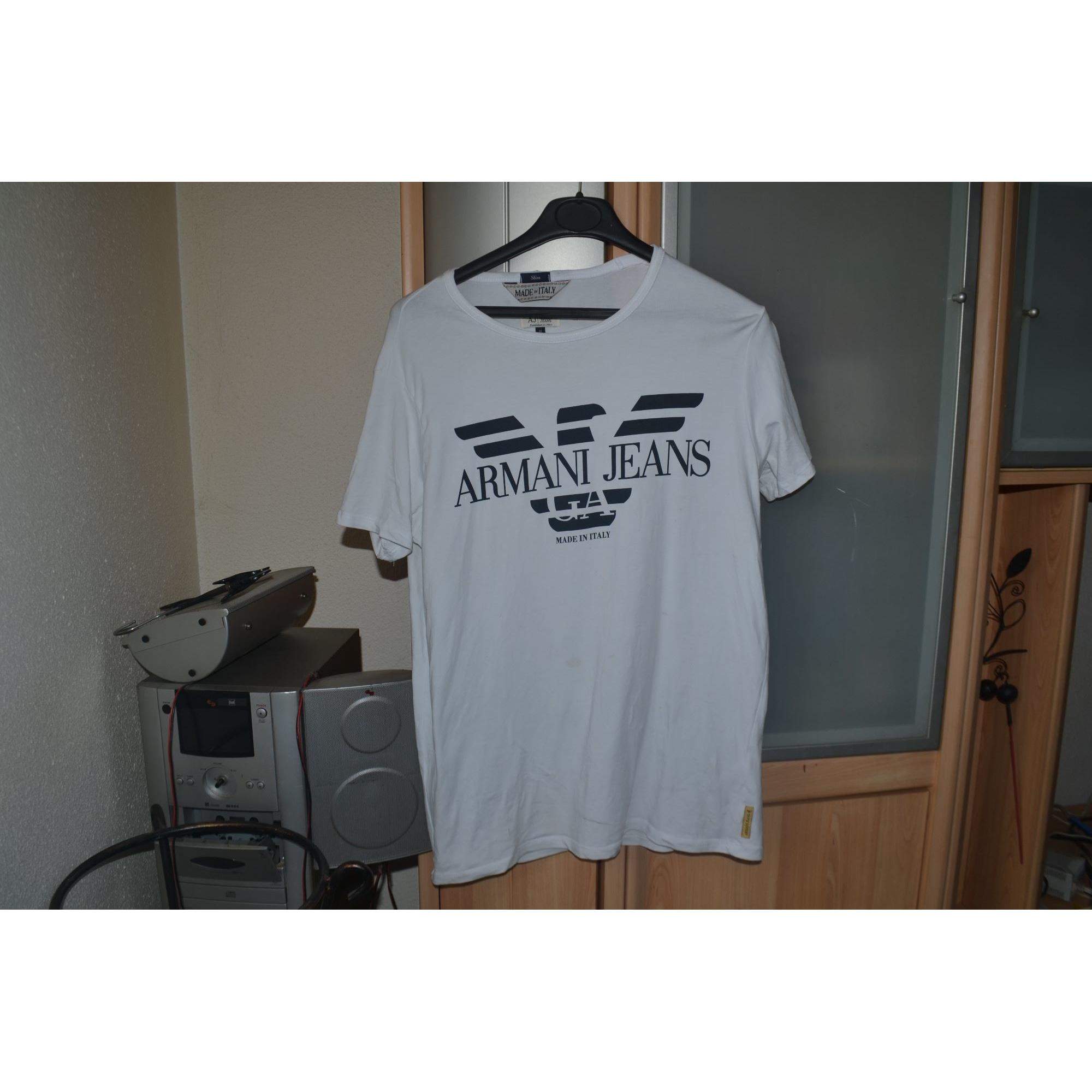 Tee-shirt ARMANI Blanc, blanc cassé, écru