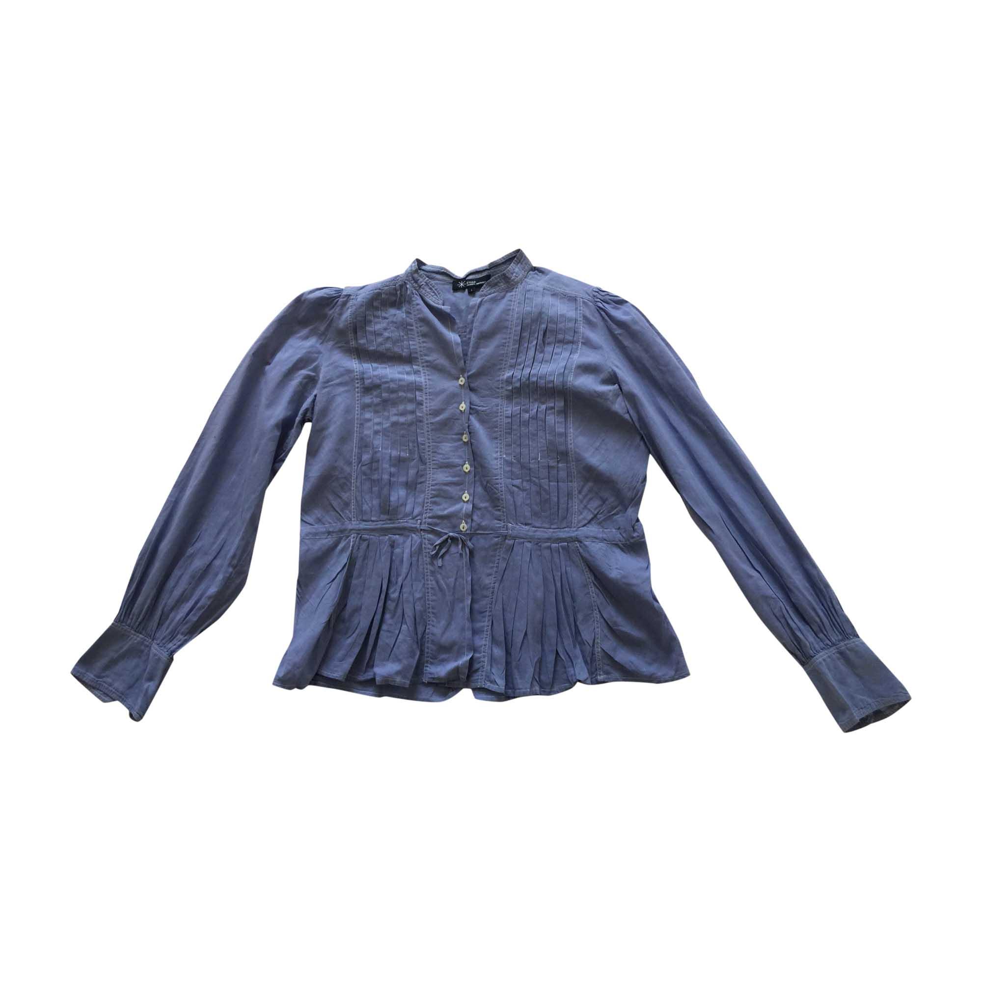 Chemise ISABEL MARANT ETOILE Bleu, bleu marine, bleu turquoise