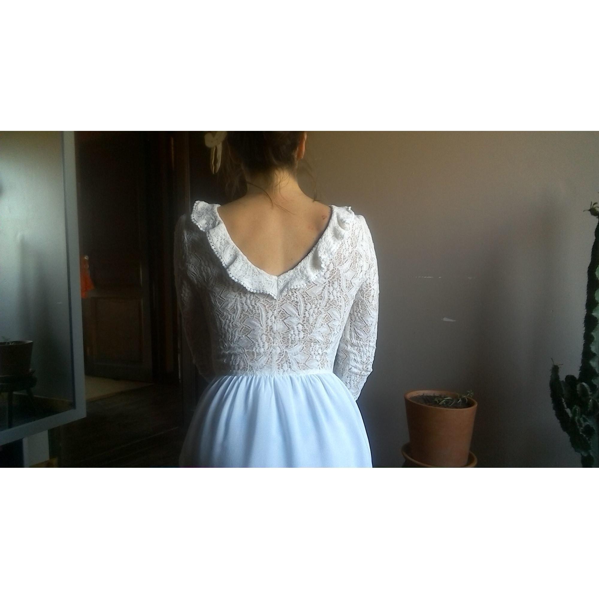 Robe courte MADEMOISELLE R Blanc, blanc cassé, écru