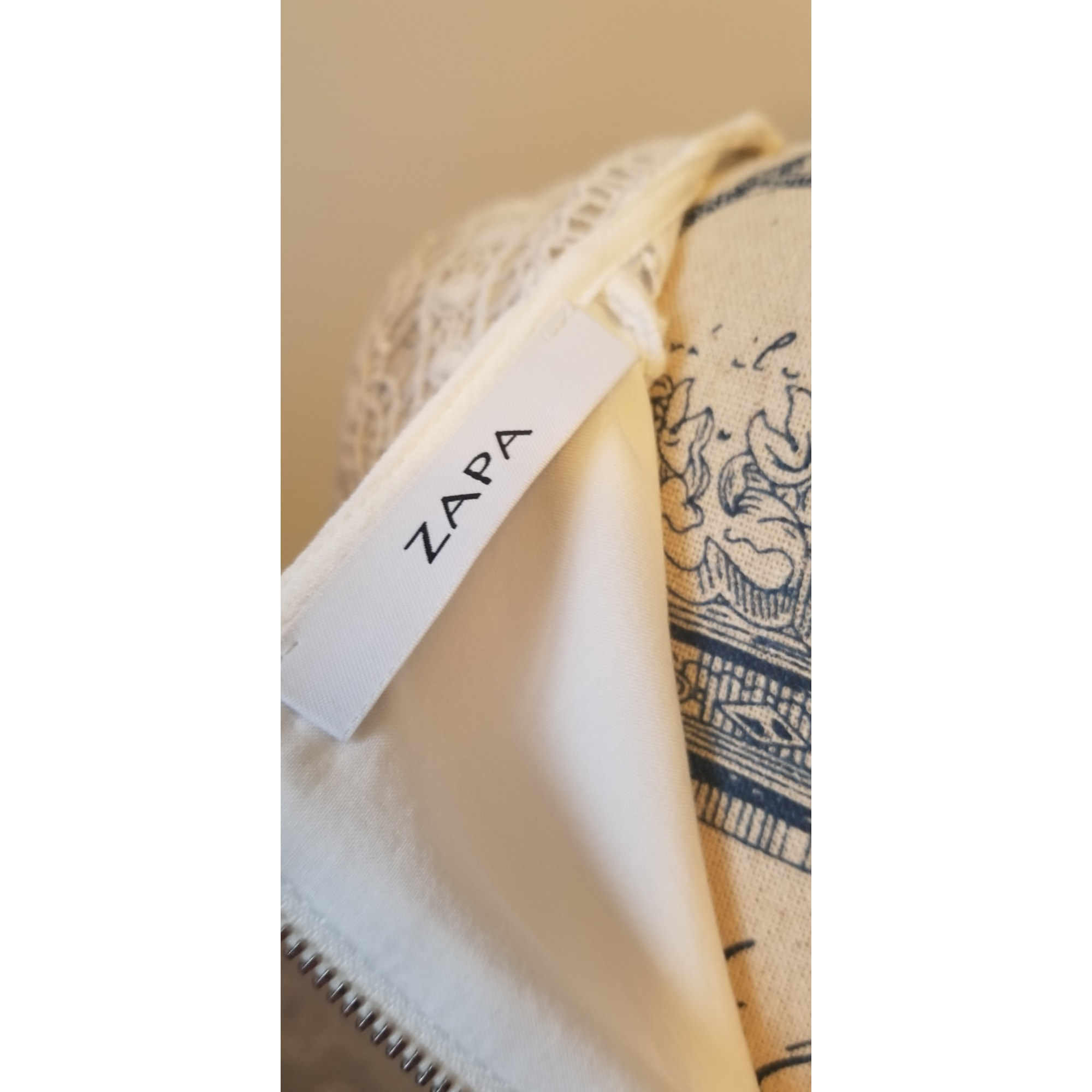 Robe mi-longue ZAPA Blanc, blanc cassé, écru