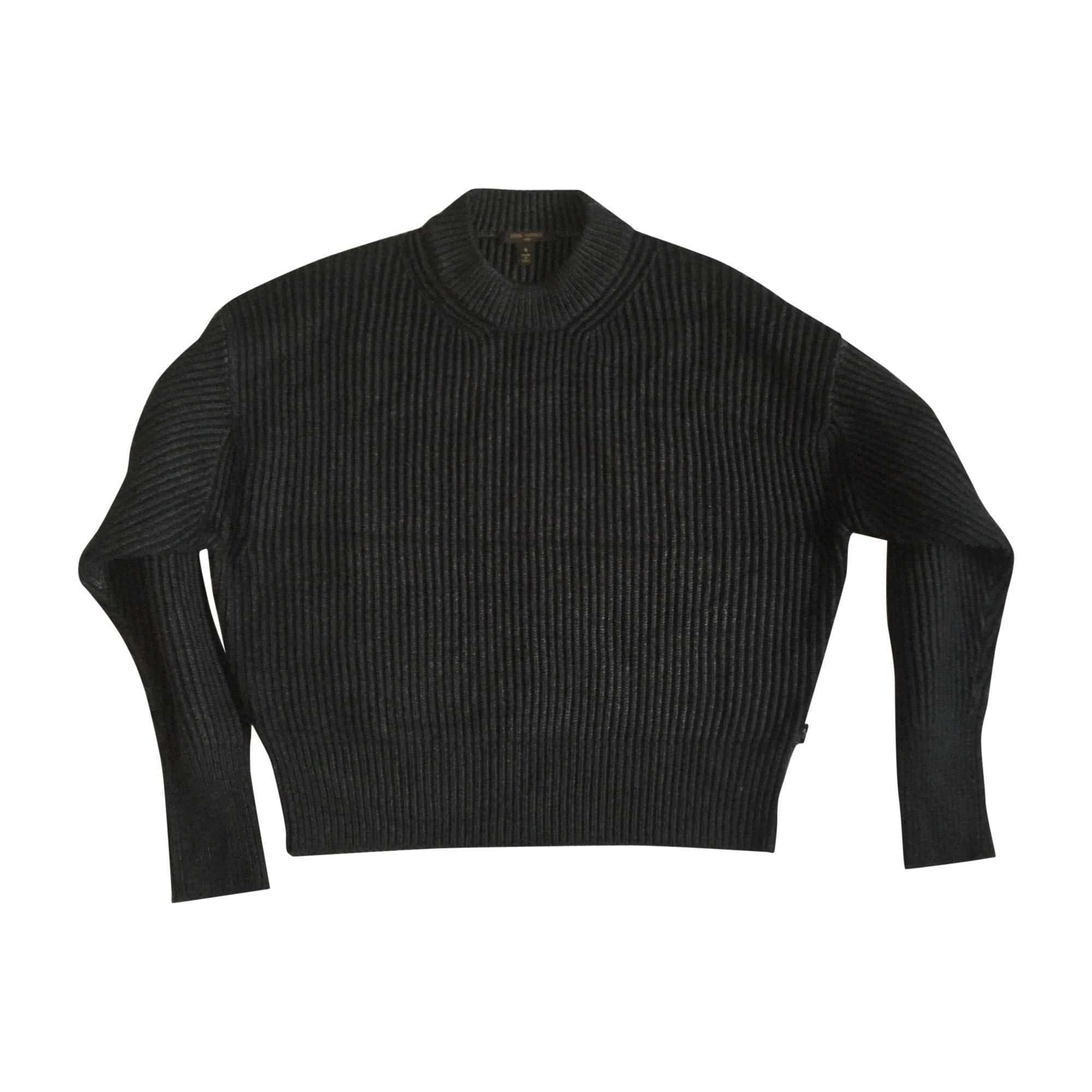 Pull LOUIS VUITTON Gris, anthracite
