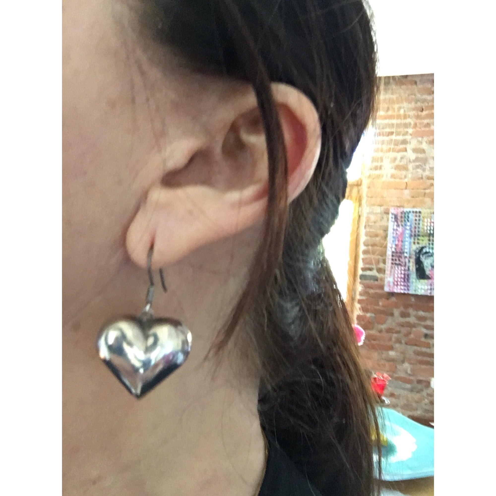 Boucles d'oreilles AGATHA Argenté, acier