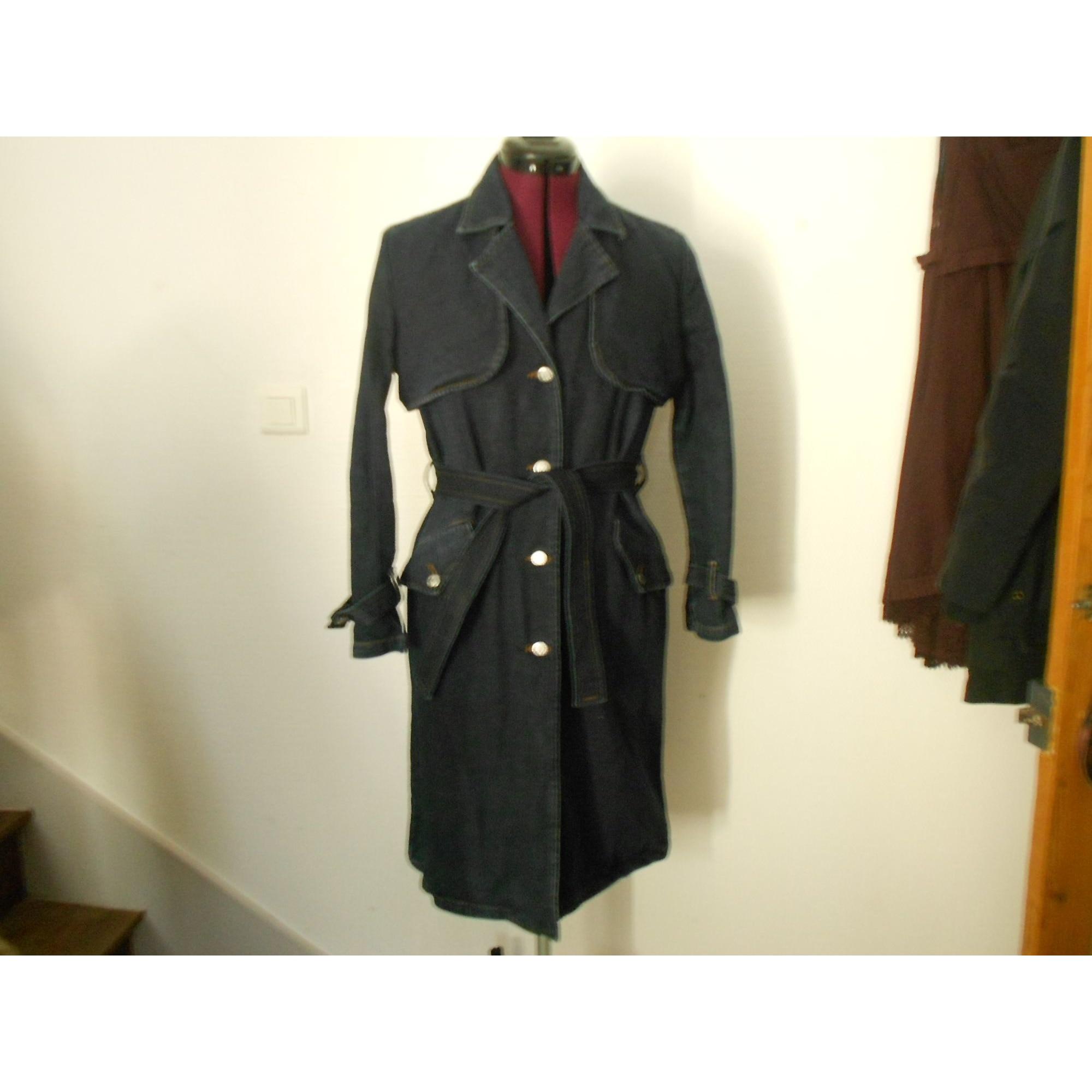 Manteau en jean CIMARRON Bleu, bleu marine, bleu turquoise