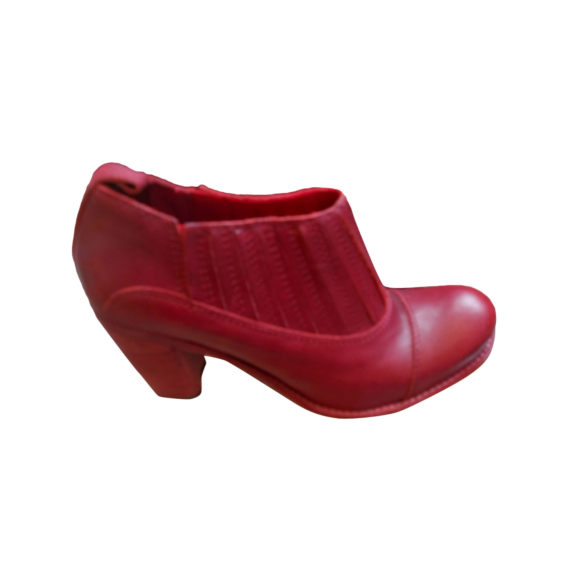 Bottines & low boots à talons COTÉLAC Rouge, bordeaux