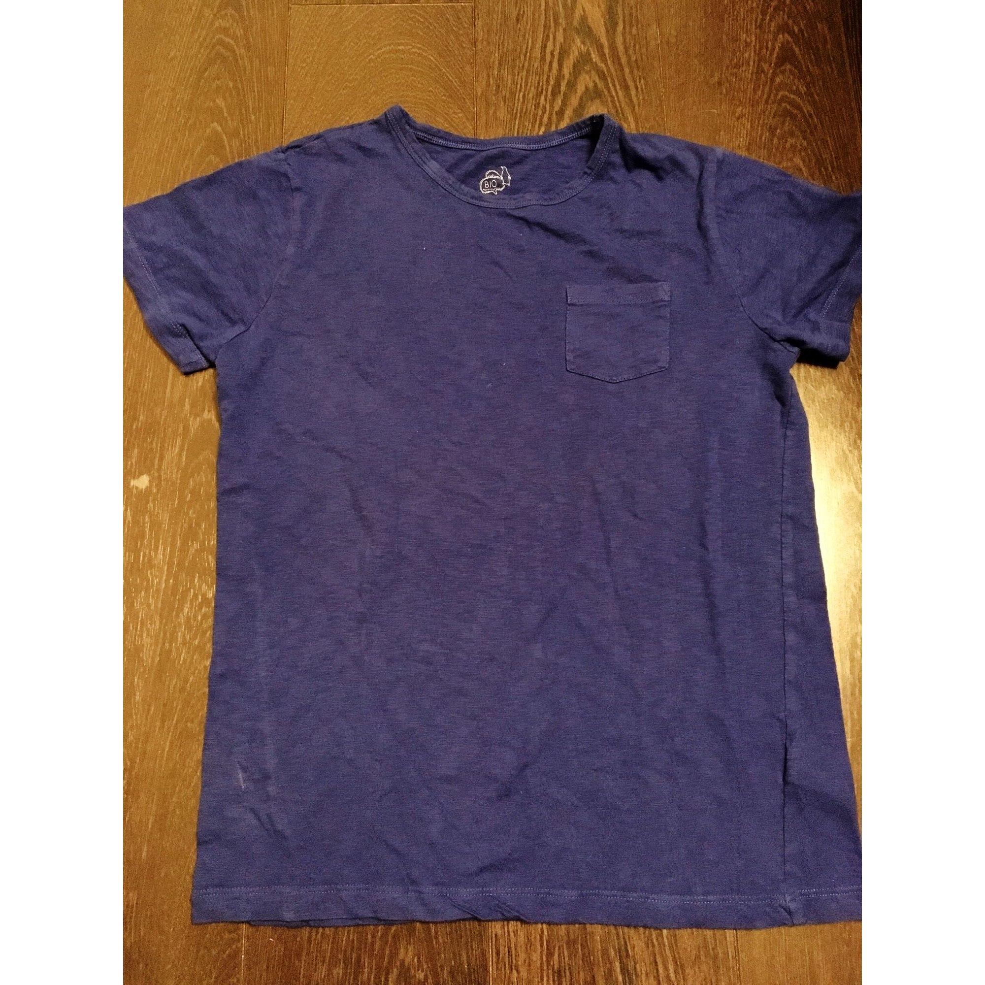 Tee-shirt CFK Bleu, bleu marine, bleu turquoise