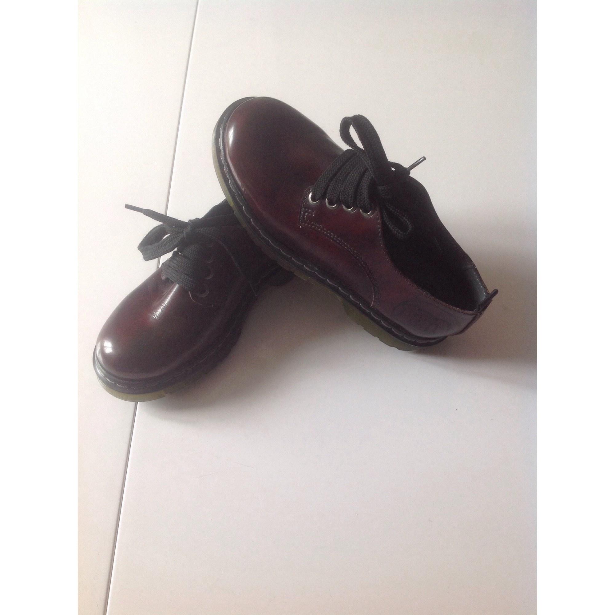 Chaussures à lacets MELANIA Marron