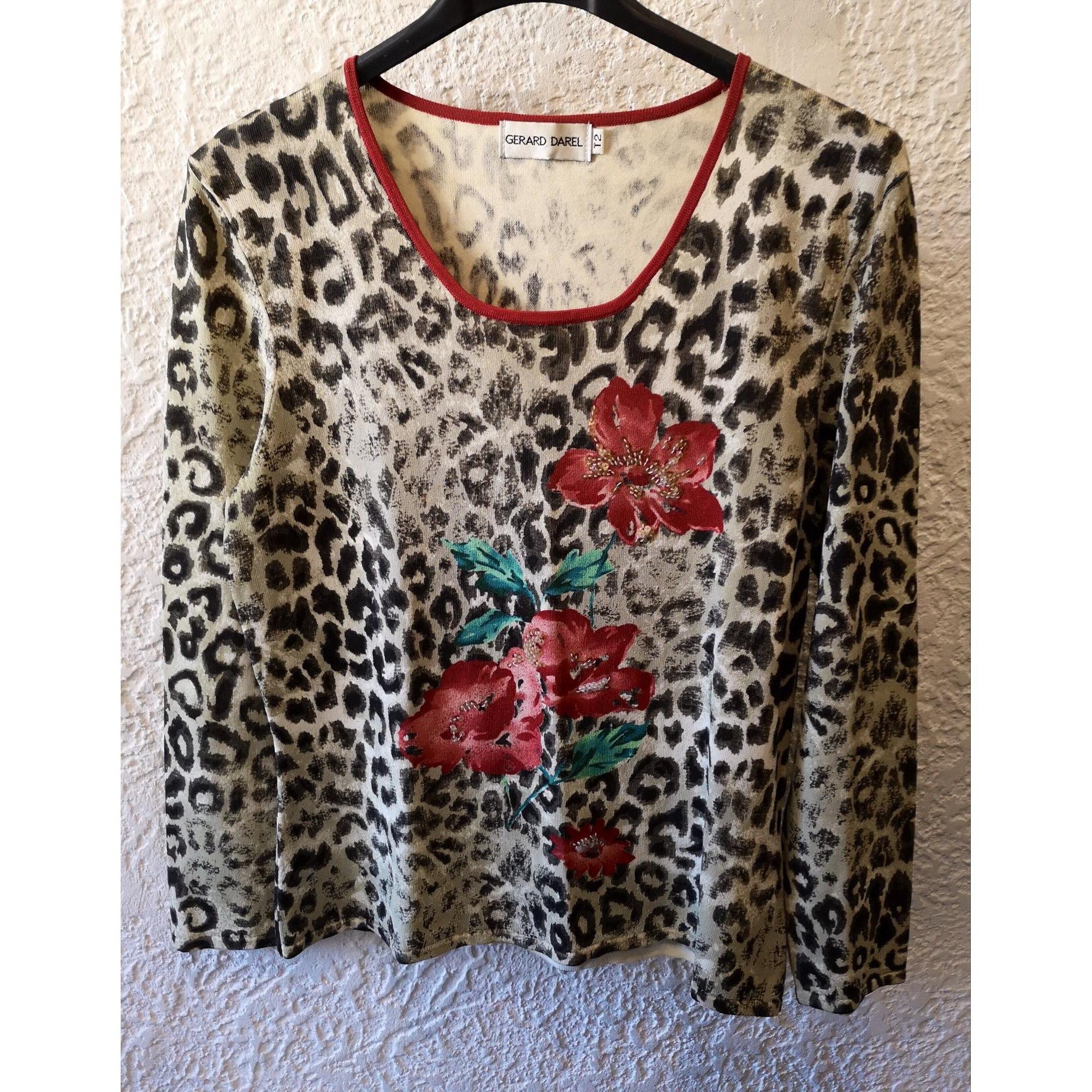 Top, tee-shirt GERARD DAREL Imprimés animaliers