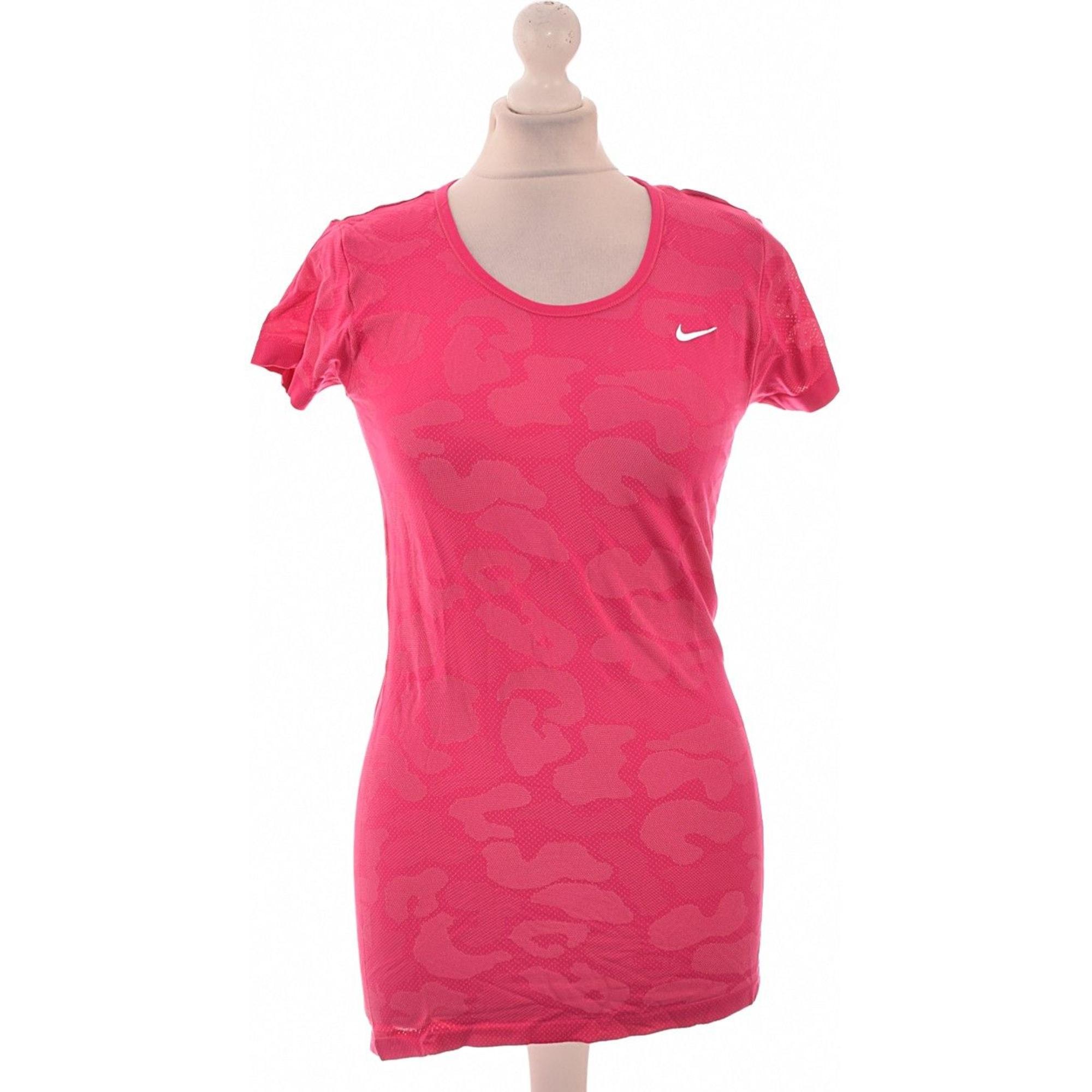 Top, tee-shirt NIKE Rose, fuschia, vieux rose