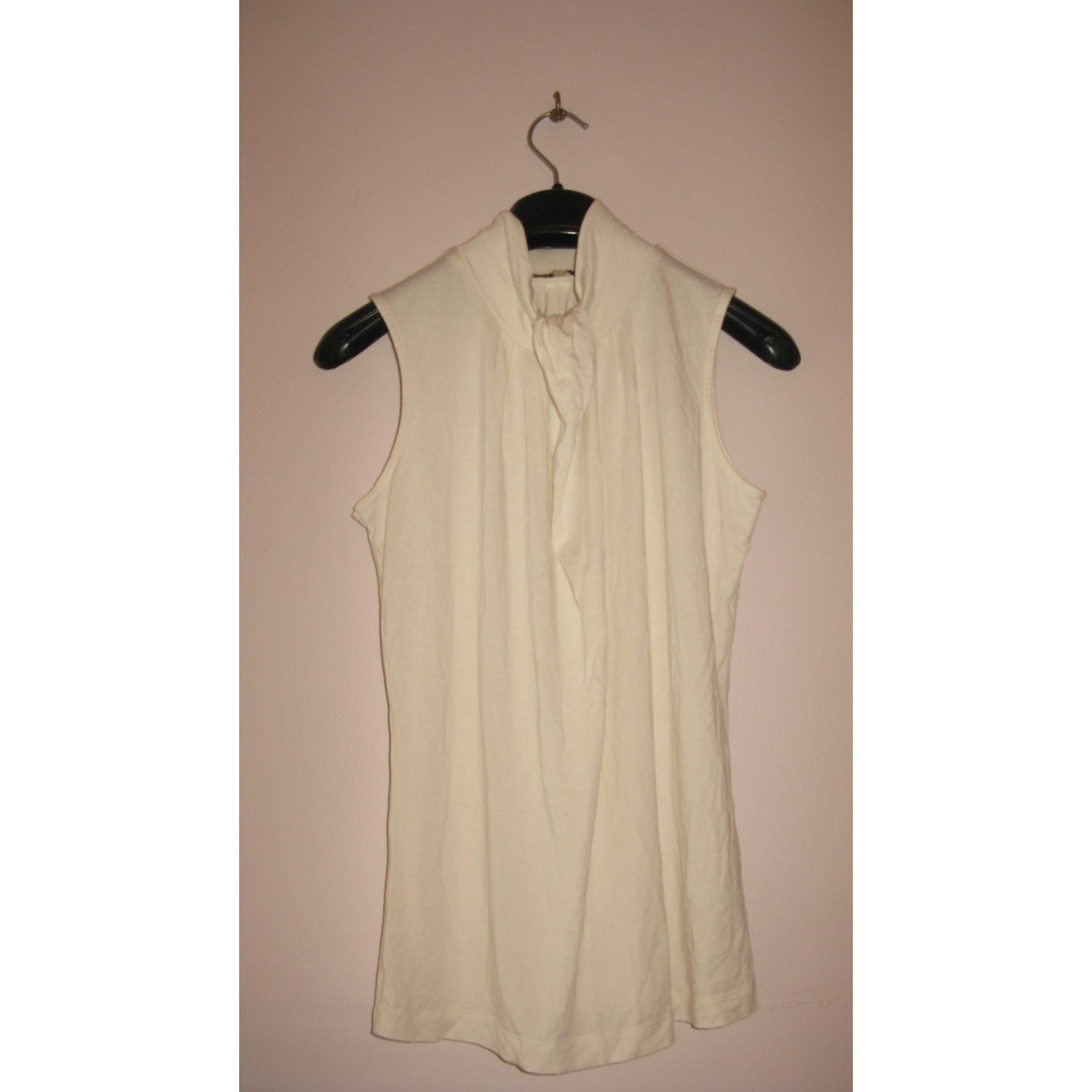 Top, tee-shirt ALAIN MANOUKIAN Blanc, blanc cassé, écru