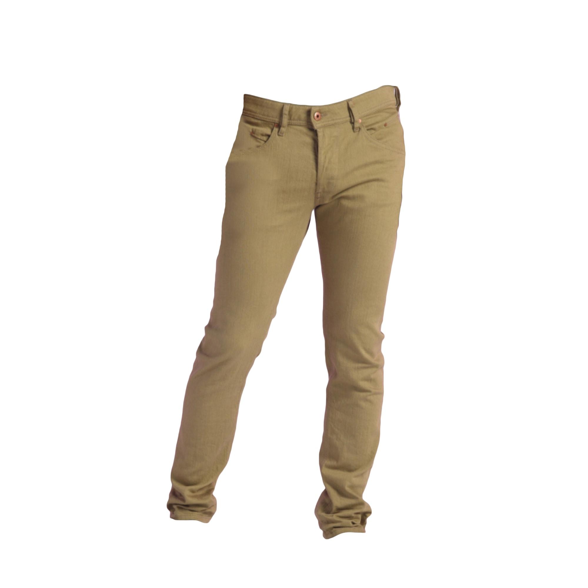 Jeans droit DIESEL Beige, camel