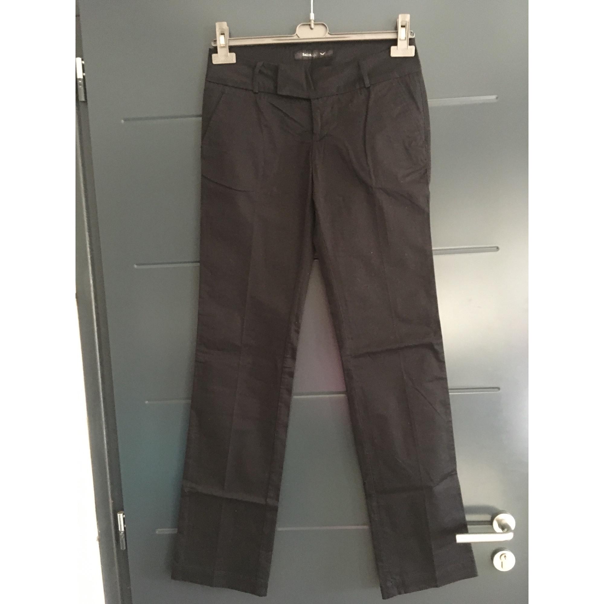 Pantalon droit SALSA Noir