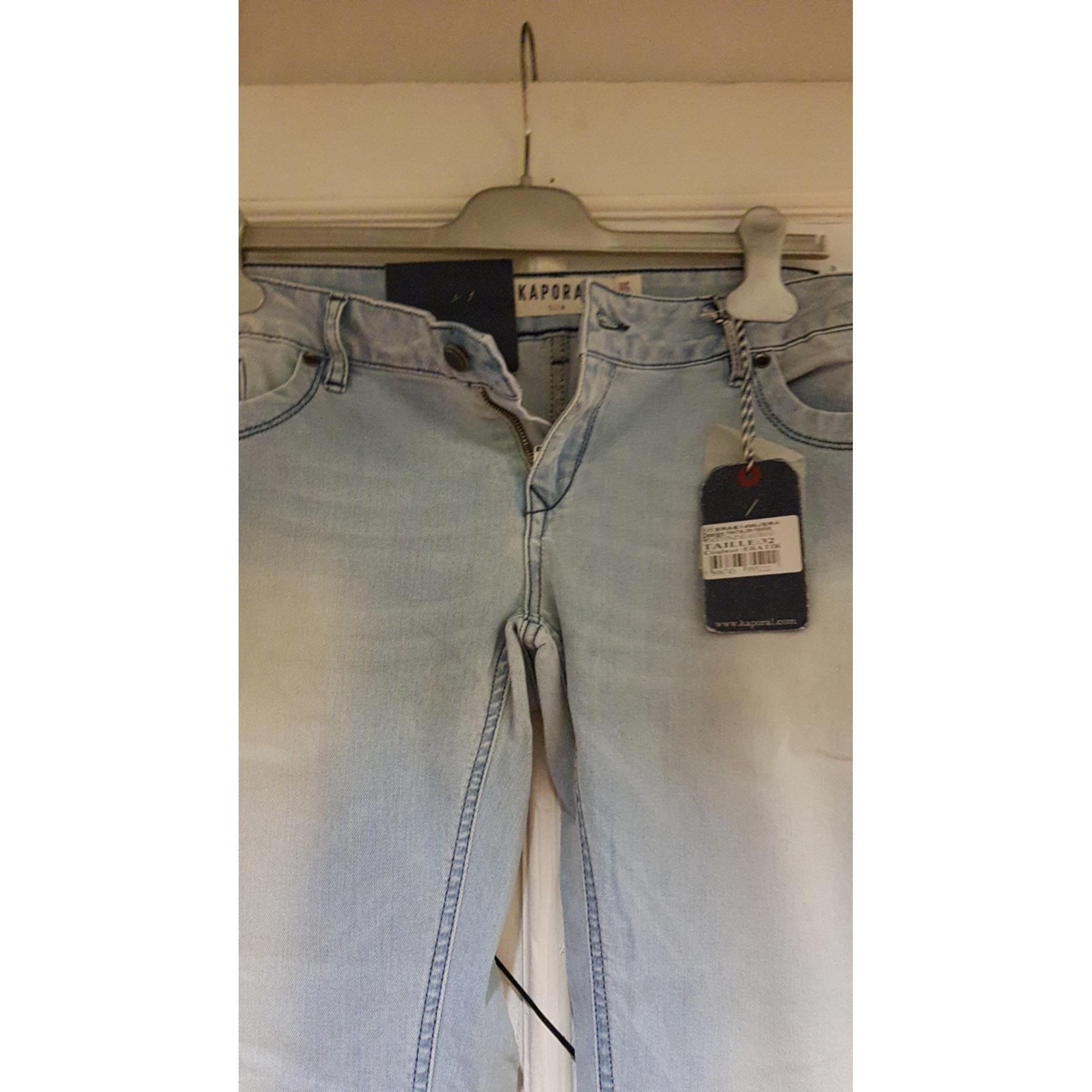 Jeans slim KAPORAL Bleu, bleu marine, bleu turquoise
