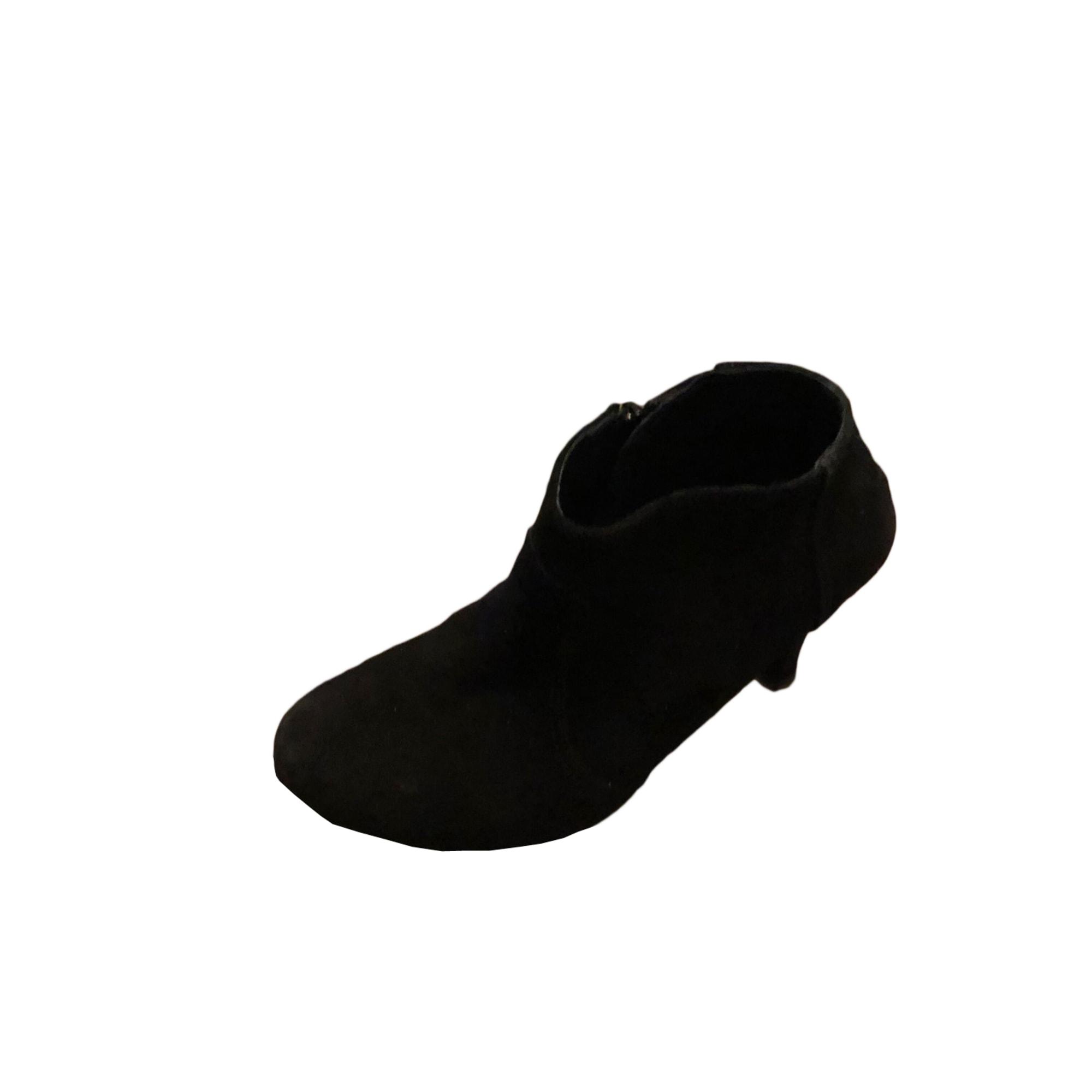 Bottines & low boots à talons LES PETITES PARISIENNES Noir