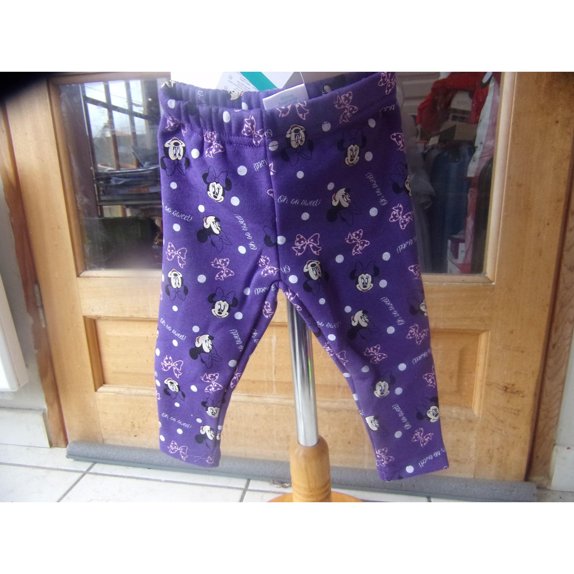 Pantalon DISNEY Violet, mauve, lavande