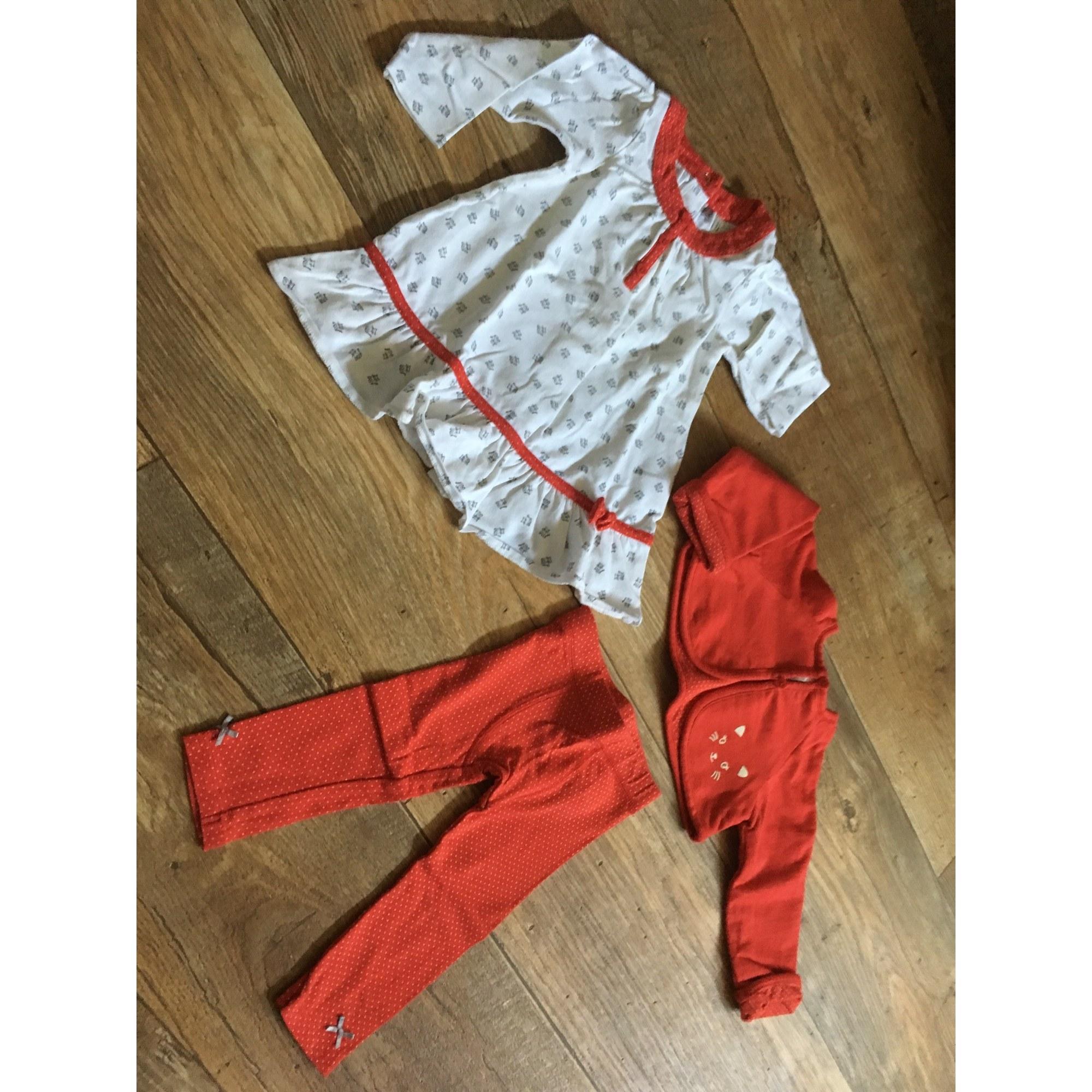 Ensemble & Combinaison pantalon ORCHESTRA Rouge, bordeaux